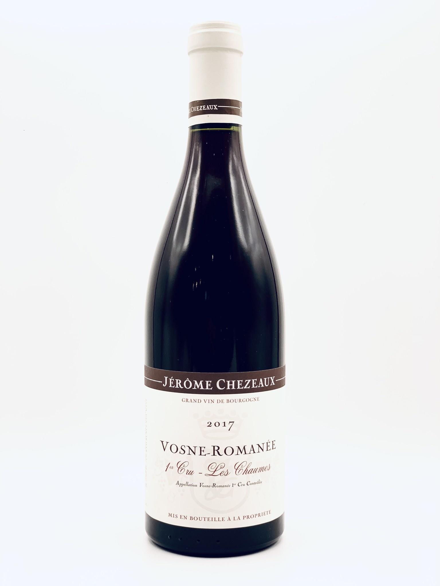 """Vosne-Romanee  """"Les Chaumes"""" 2015 Jerome Chezeaux 1er Cru  750ml"""