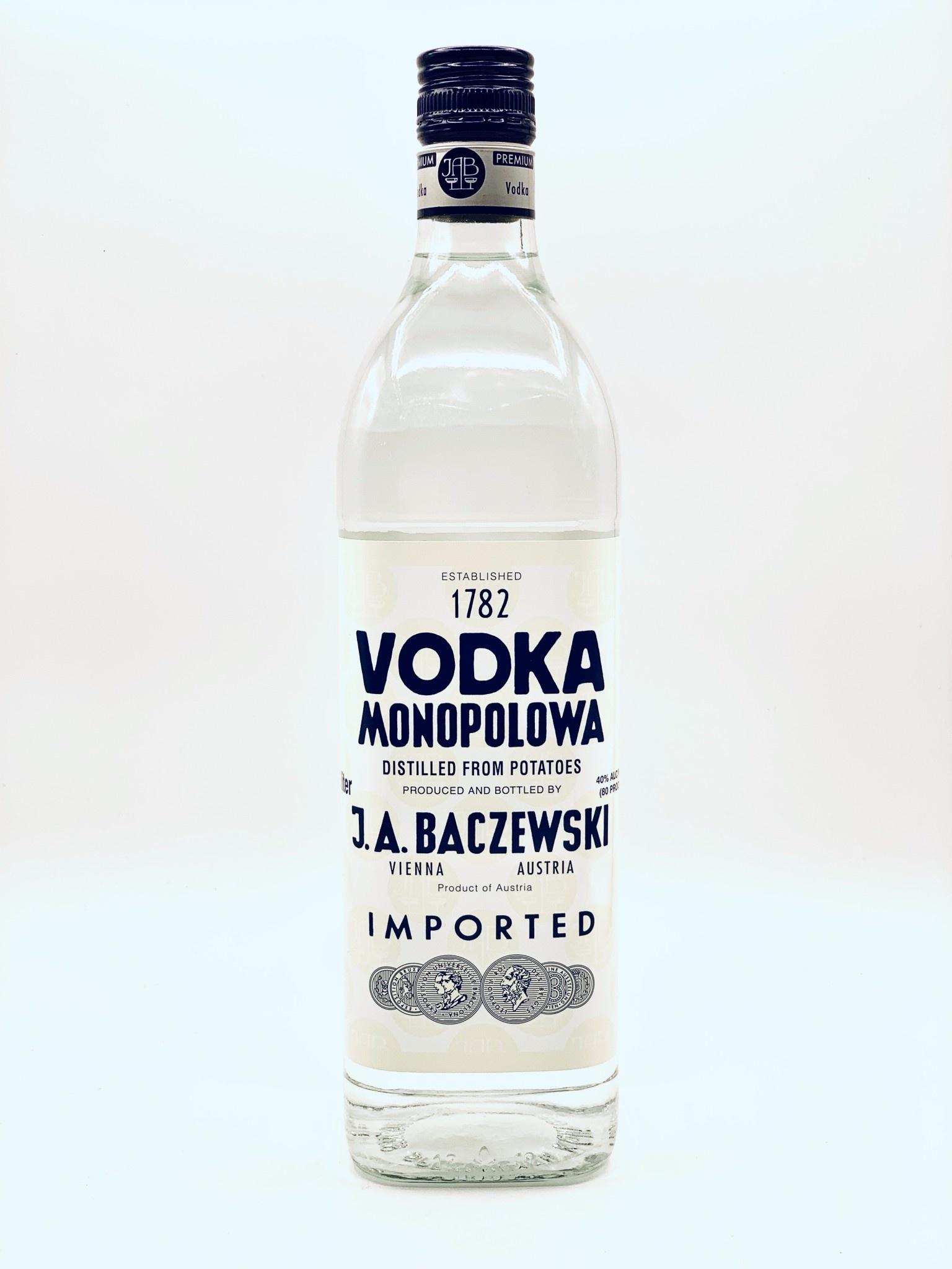 Monopolowa Austrian Potato Vodka 1.0 Liter (80 Proof)