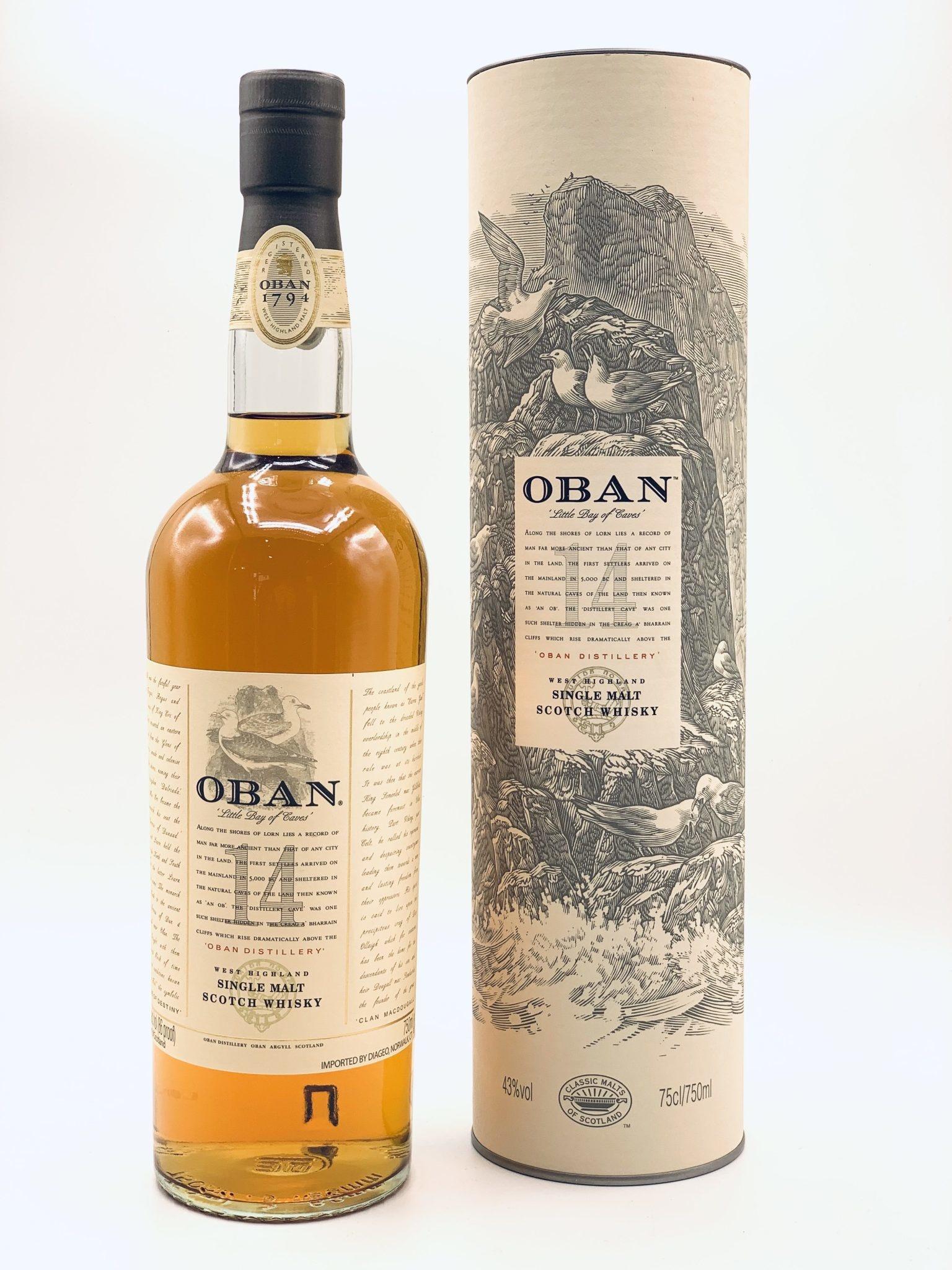 Oban Distillery 14yr Highland Single Malt Scotch Whisky 750ml (86 proof)