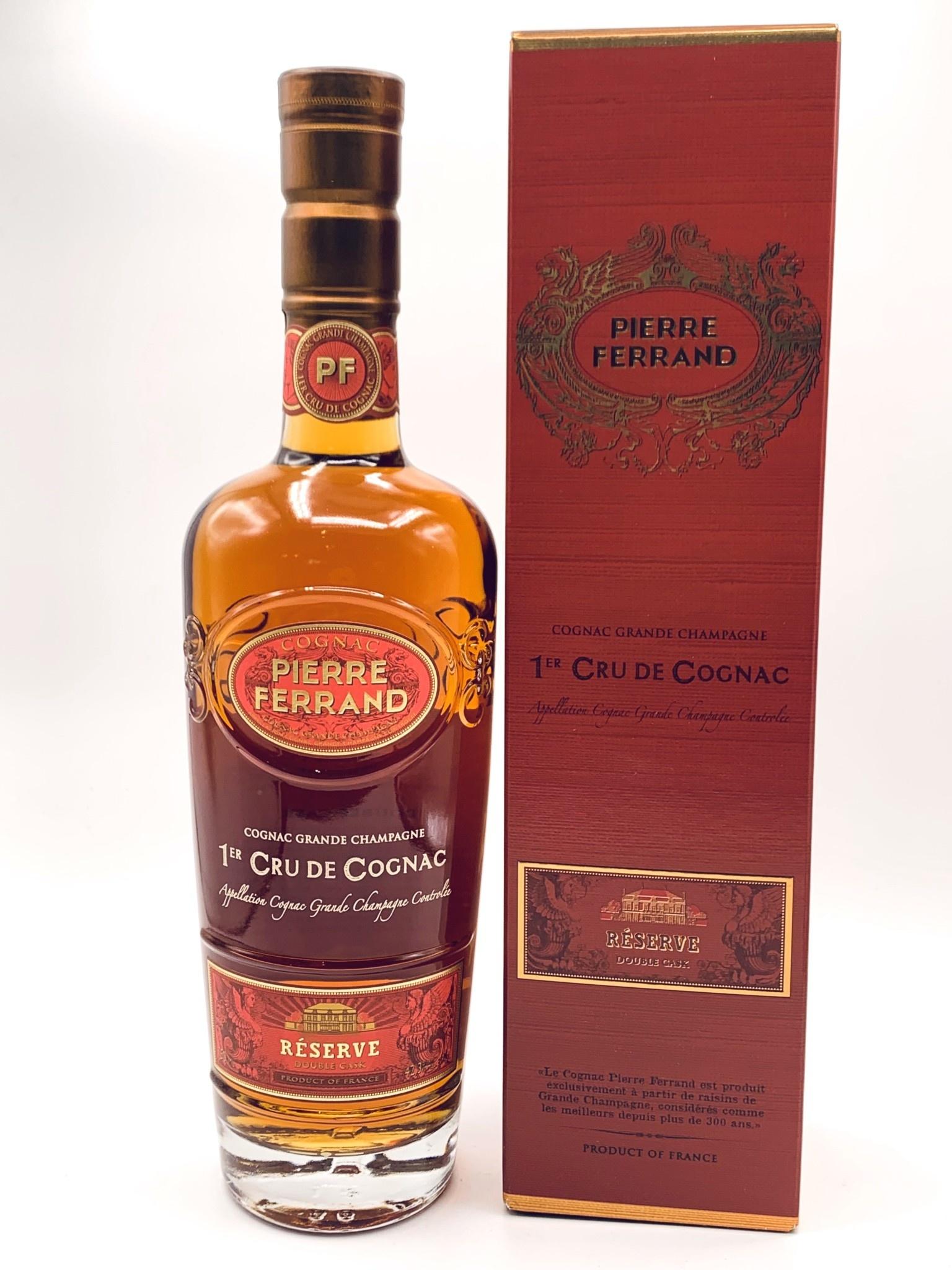 Pierre Ferrand Cognac 12yr Reserve Double Cask Grande Champagne 750ml (80 Proof)