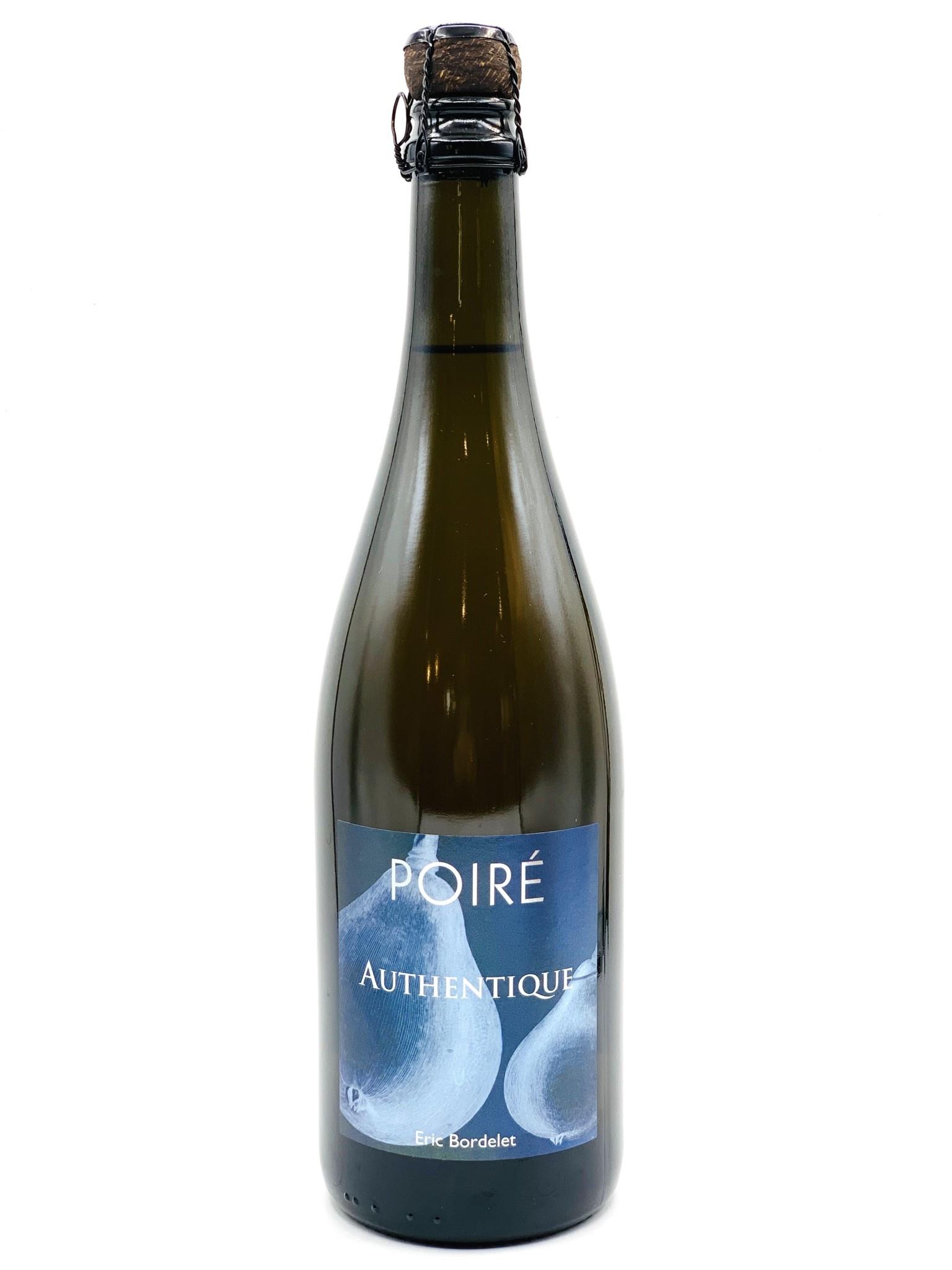 "Poire (Pear) Sparkling Cider NV Eric Bordelet ""Authentique""  750ml"