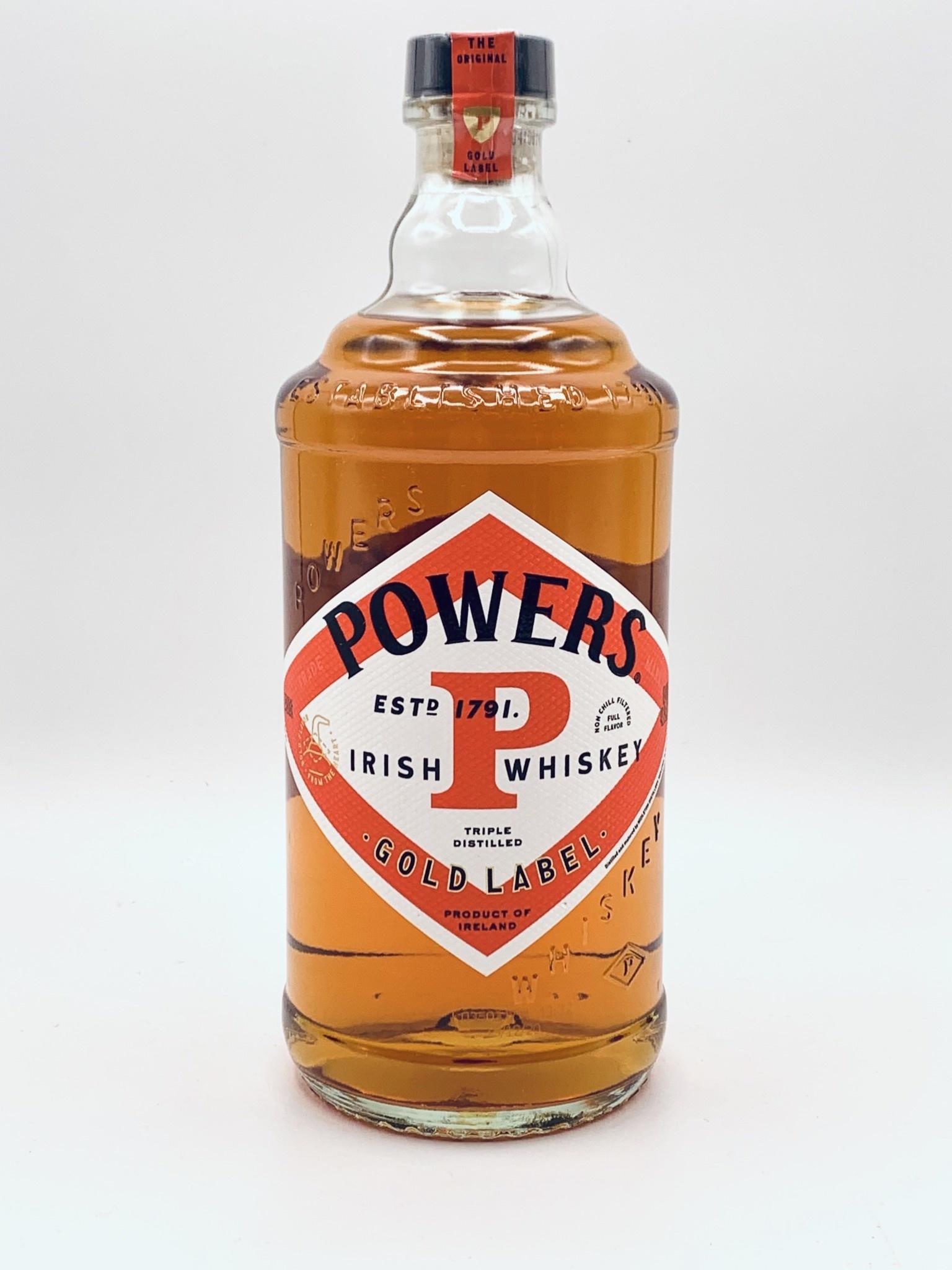 Powers Gold Label Irish Whiskey 750ml (86.4proof)