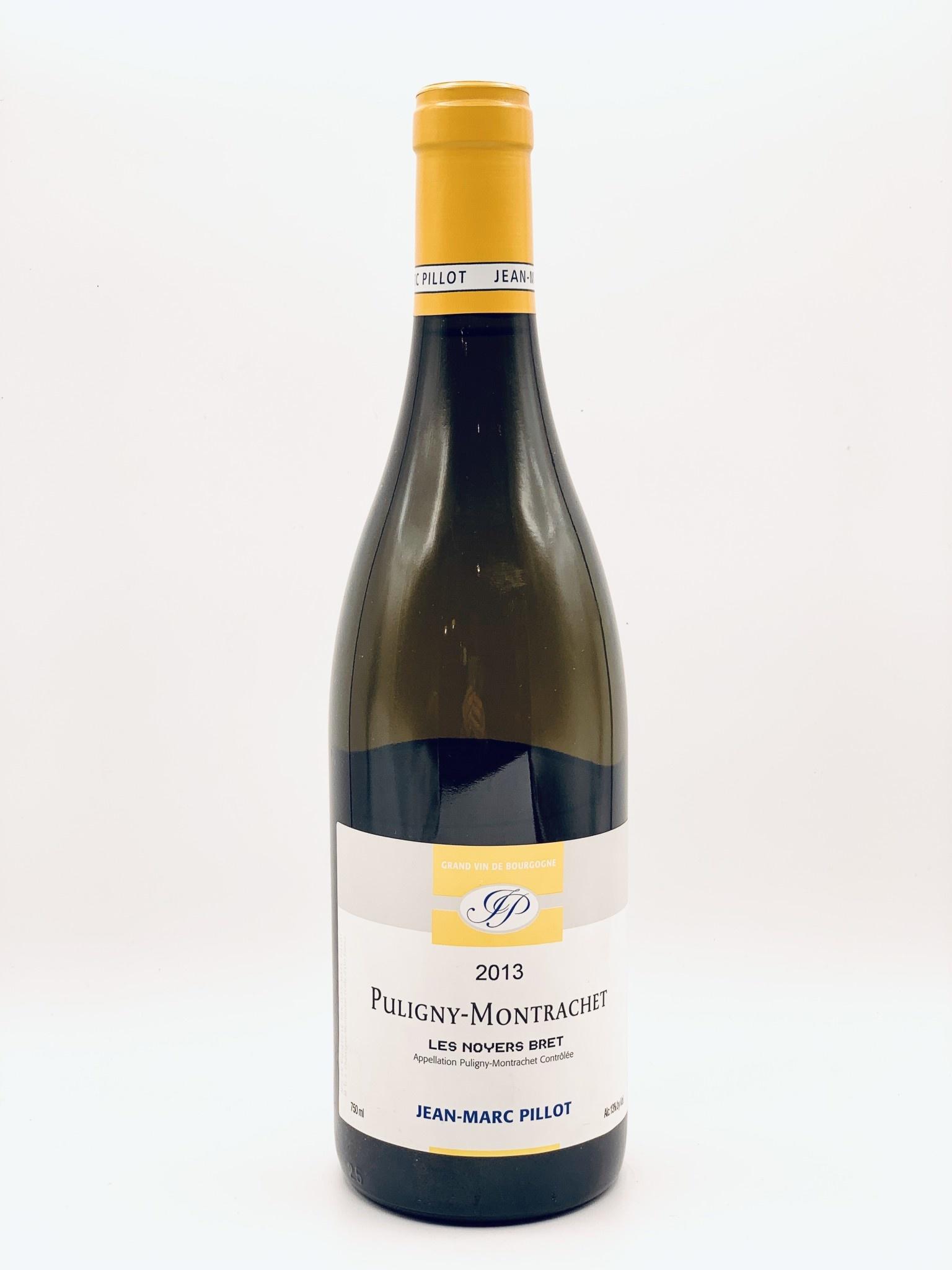 Puligny Montrachet 'Les Noyers Bret' 2013 Domaine Jean Marc Pillot 750ml