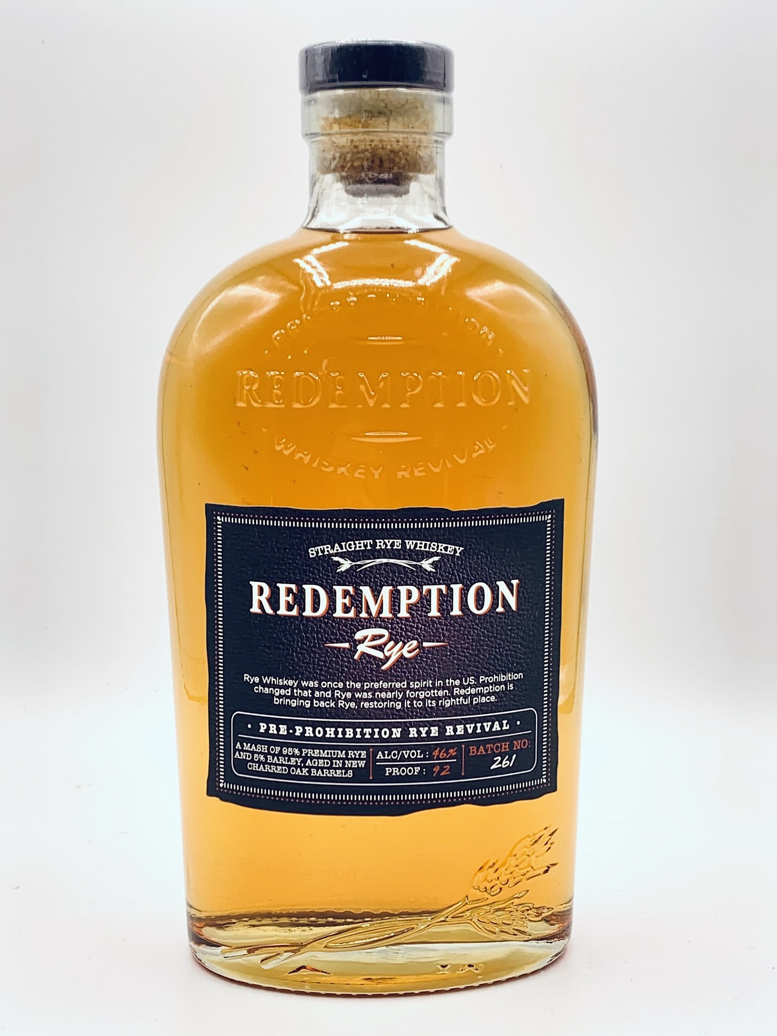 Bardstown Redemption Rye Whiskey 750ml (92proof)