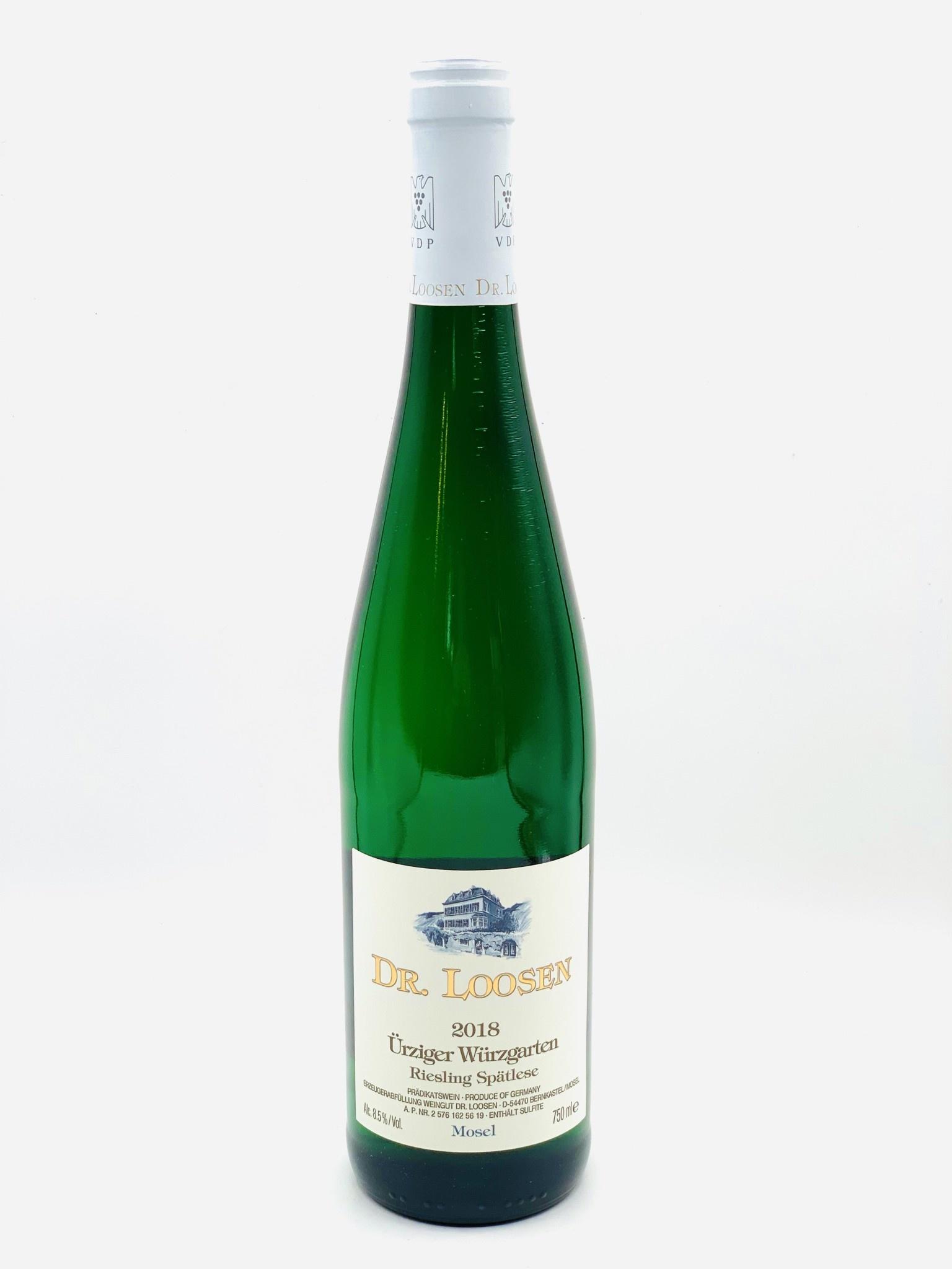 "Mosel Riesling Spatlese 2018 Dr. Loosen ""Urziger Wurzgarten""  750ml"