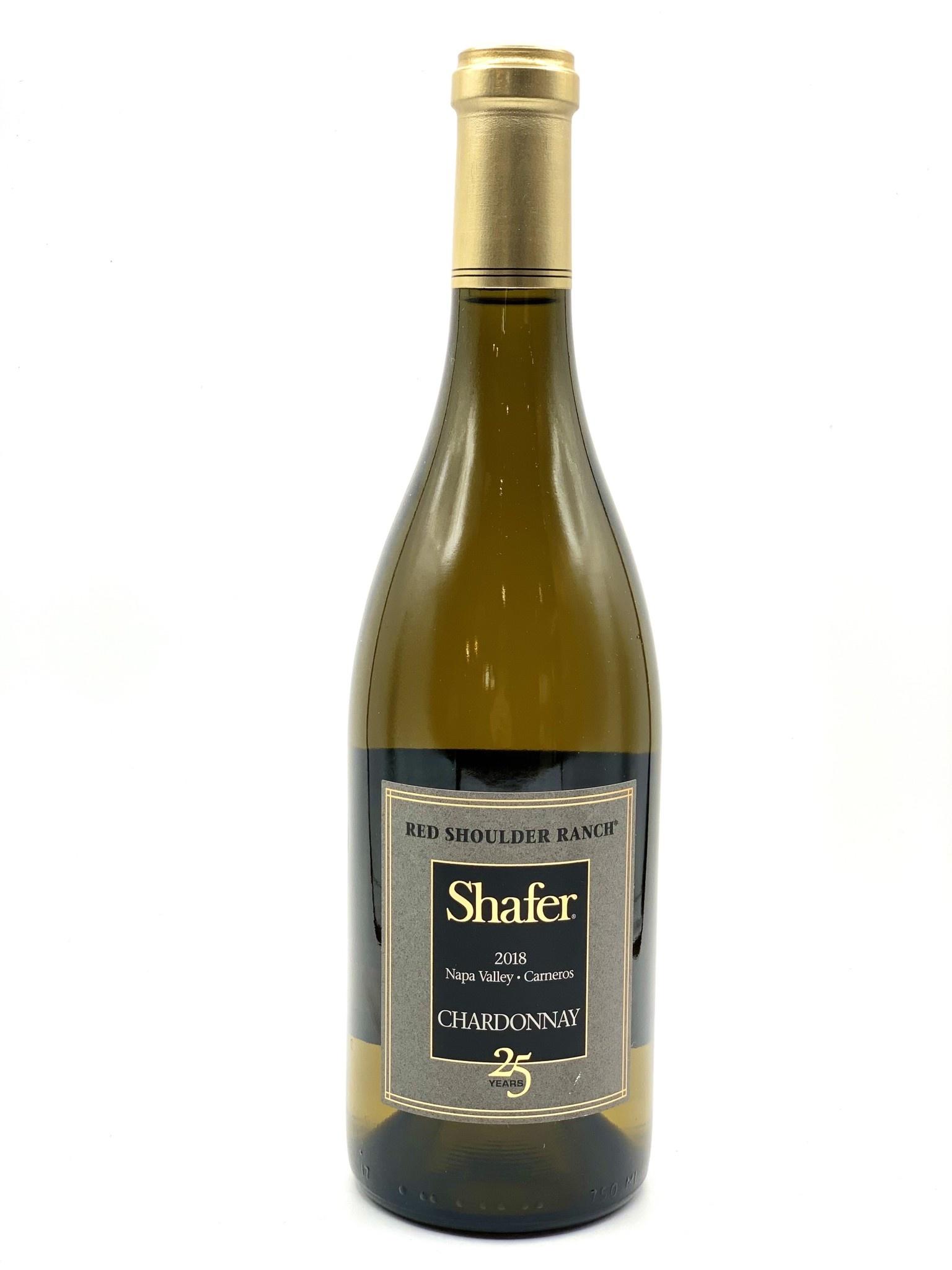 "Napa Valley Chardonnay 2018 Shafer ""Red Shoulder Ranch"" 750ml"