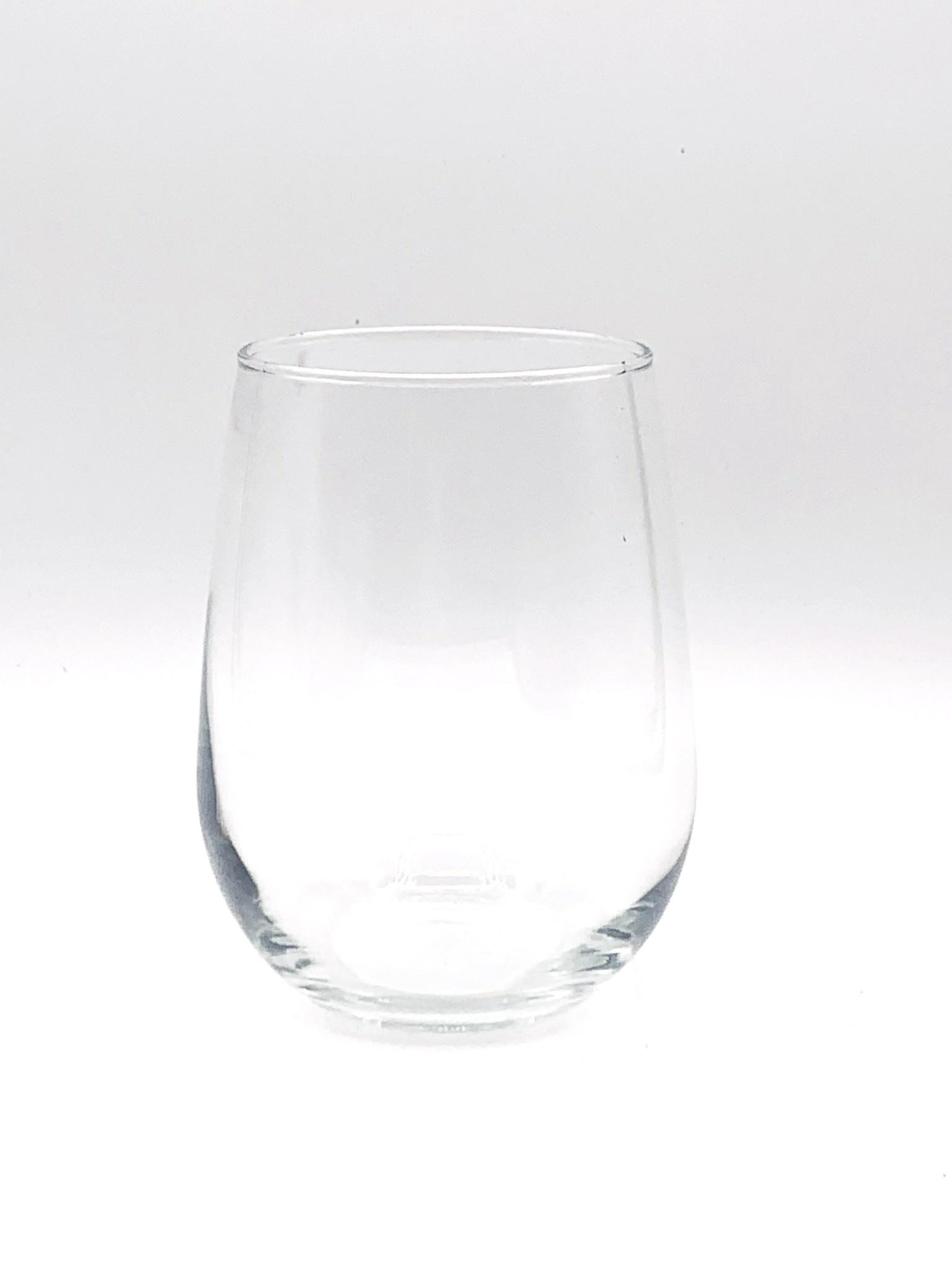 Stemless White Wine Glass 17 oz