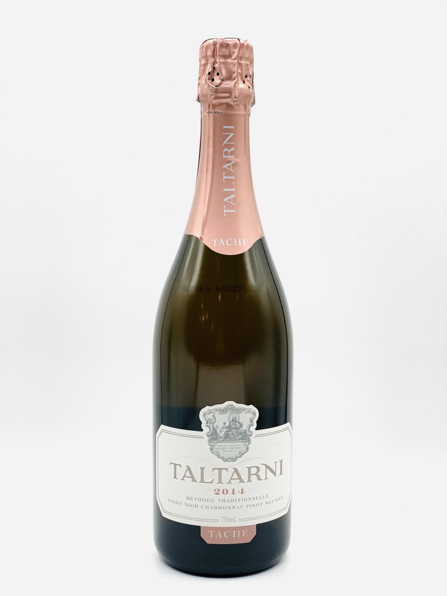 """Victoria Australia Brut Rose 2014 Taltarni """"Tache"""" 750ml"""