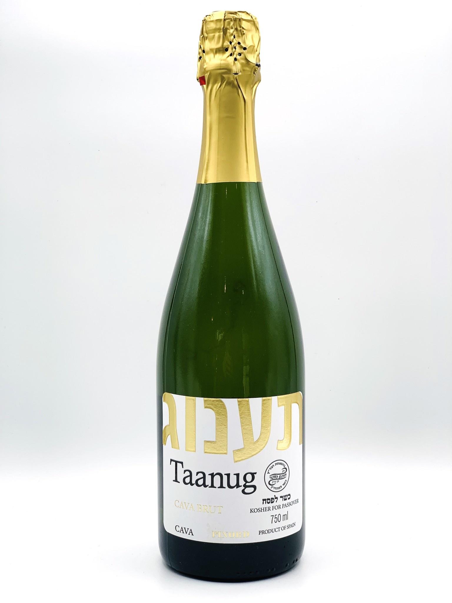 """Kosher Cava Brut NV Bodegas Pinord """"Taanug"""" 750ml"""