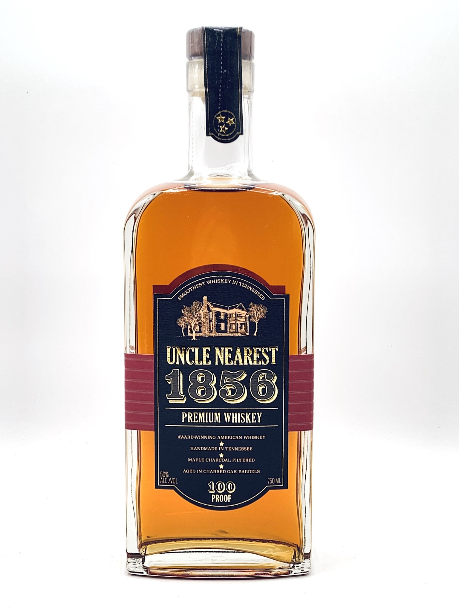 Uncle Nearest 1856 Tennessee Premium Whiskey 750ml (100 proof)
