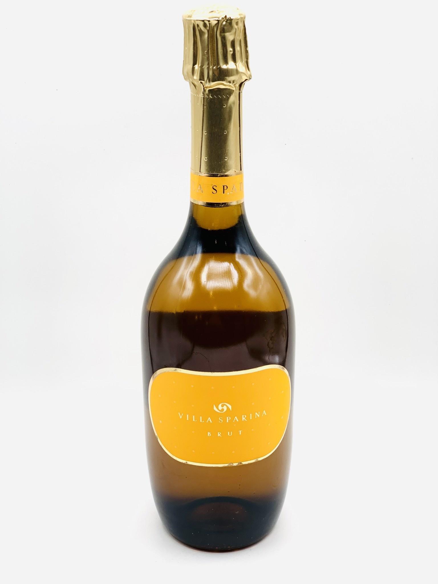 Vino Spumante Di Qualita Brut NV Villa Sparina Blanc de Blancs 750ml