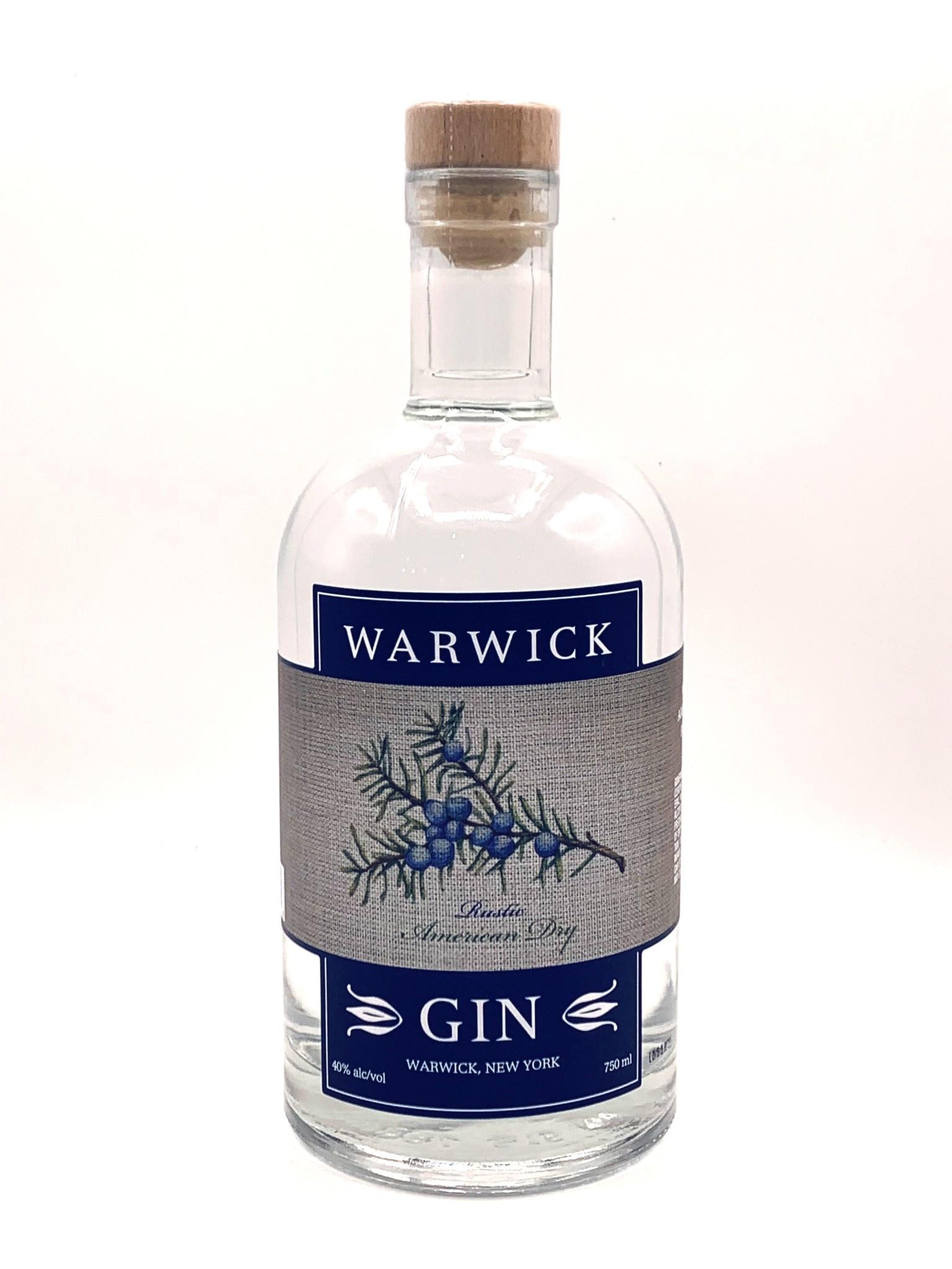 Warwick American Dry Rustic Gin 750ml (80 Proof)
