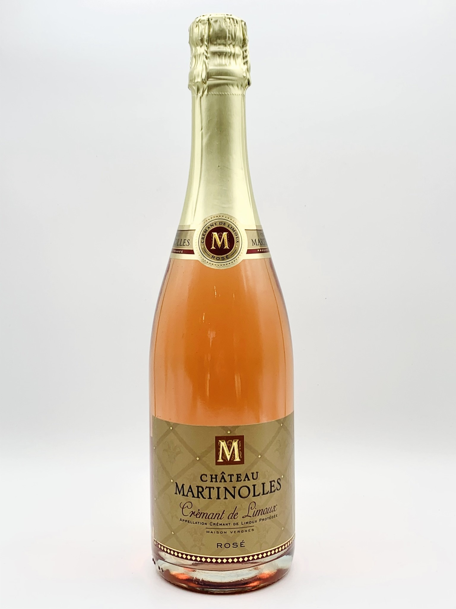 Cremant de Limoux Brut Rose NV Domaine de Martinolles 750ml