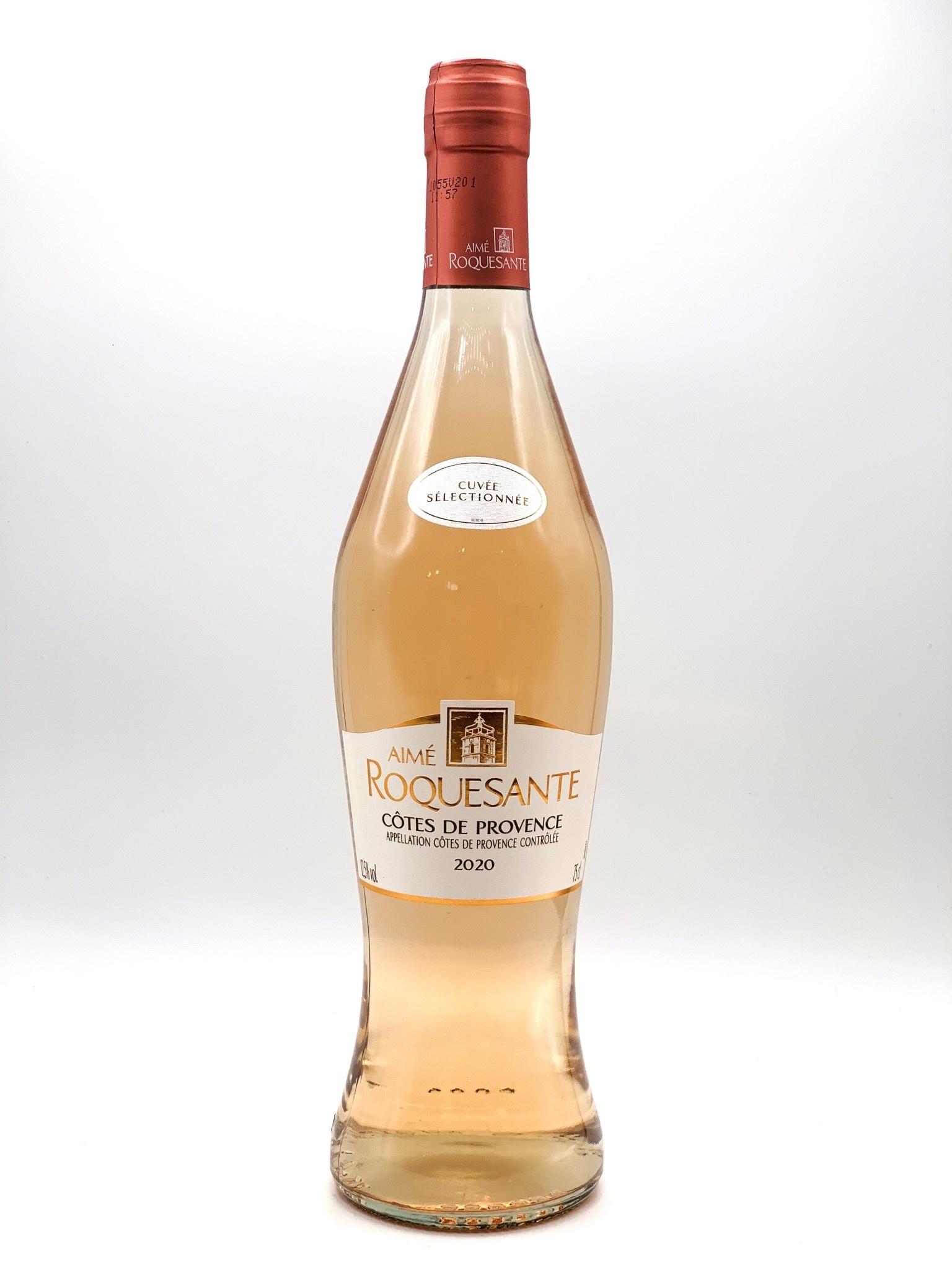 """Côtes de Provence Rosé 2020 Aimé Roquesante """"Sélectionnée""""  750ml"""