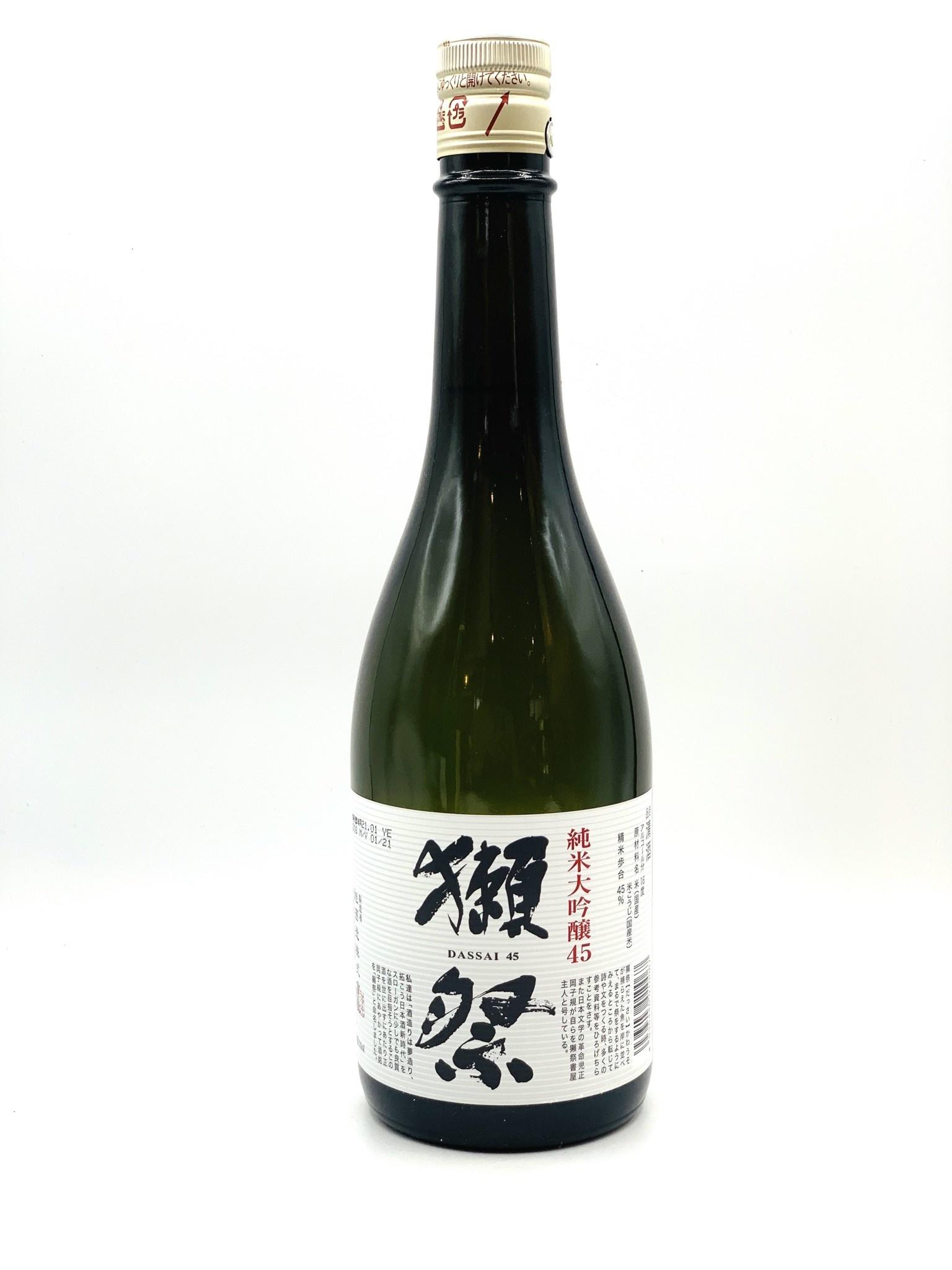 Dassai 45 Junmai Daiginjo Sake 720ml