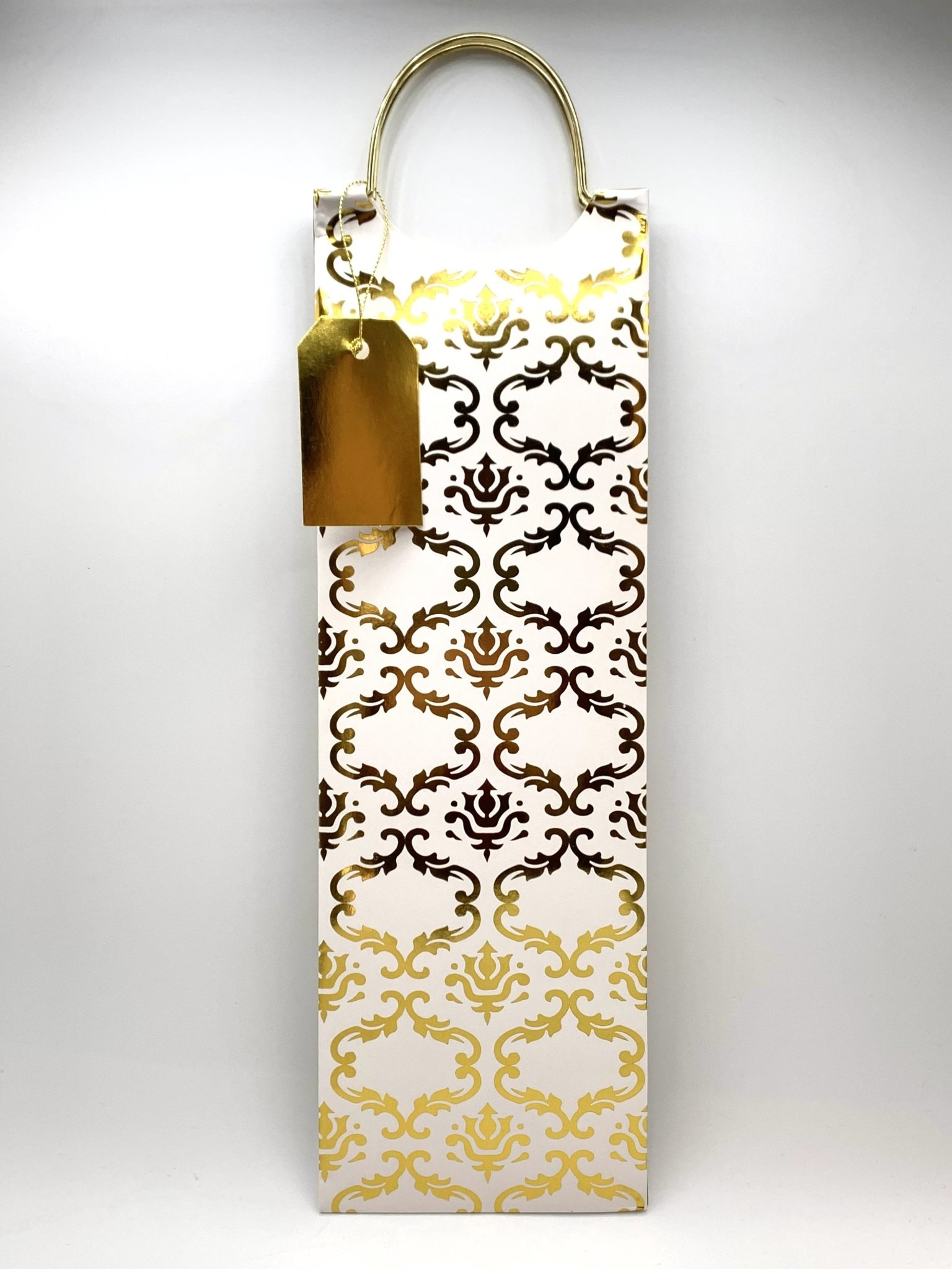 Assorted Luxe Mosaic 1-Bottle Gift Bag