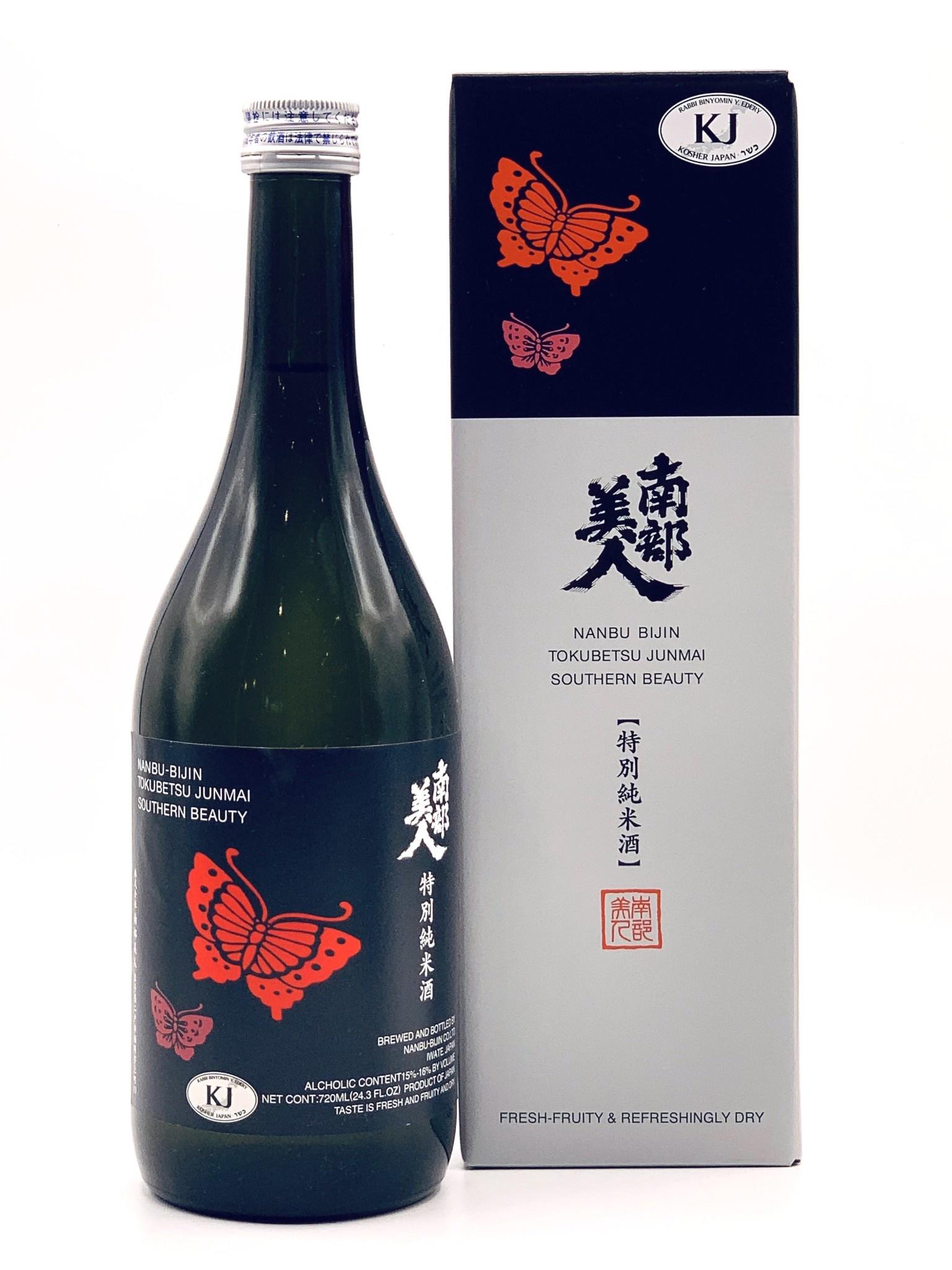 Nanbu Bijin Tokubetsu Junmai Sake 720ml.