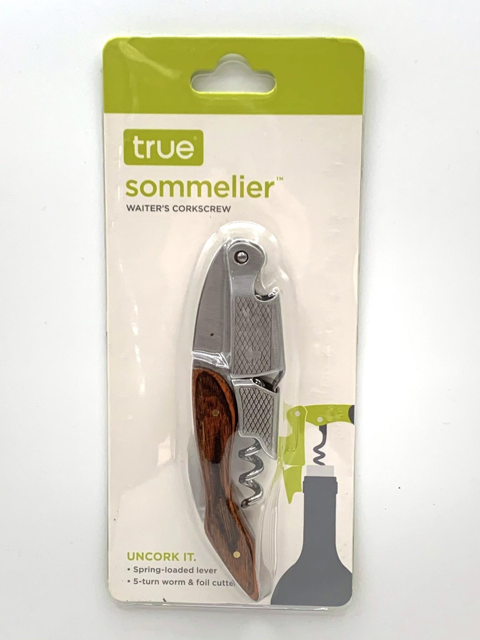 SOMMELIER Series Wood Veneer Corkscrew