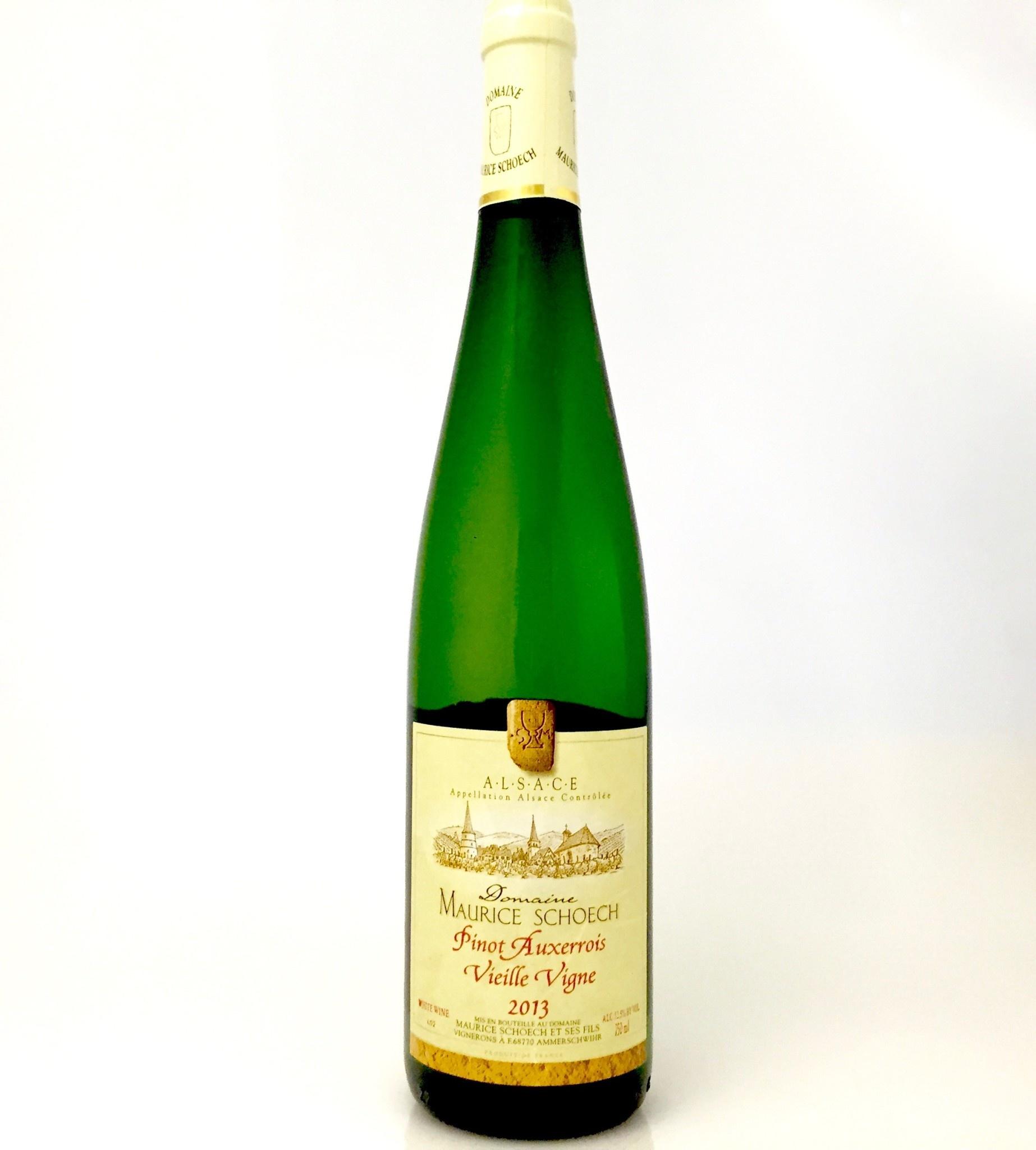 Alsace Pinot Auxerrois VV 2018 Domaine Maurice Schoech