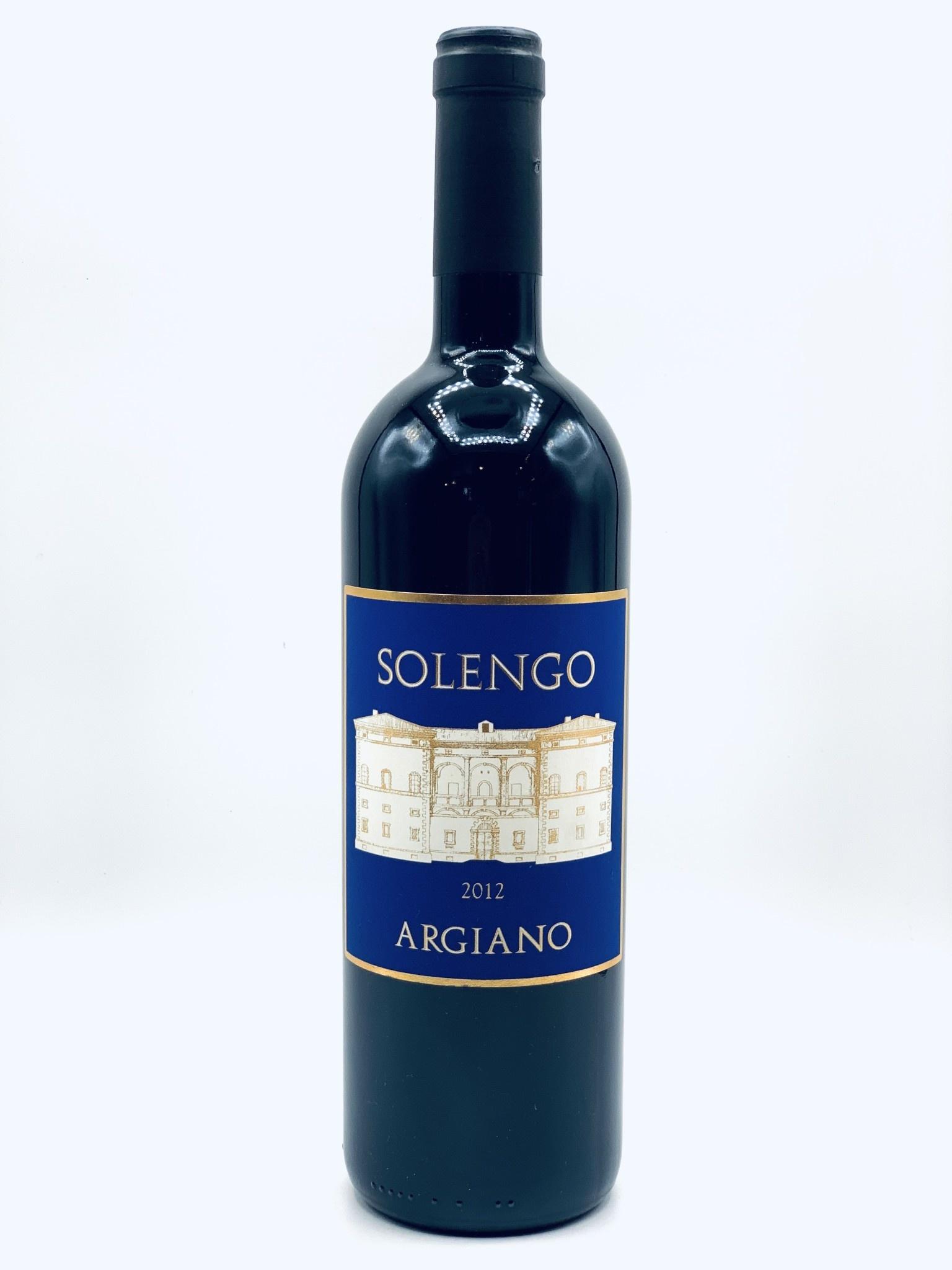 """Super Toscana IGT 2012 Tenuta di Argiano """"Solengo"""" 750ml"""