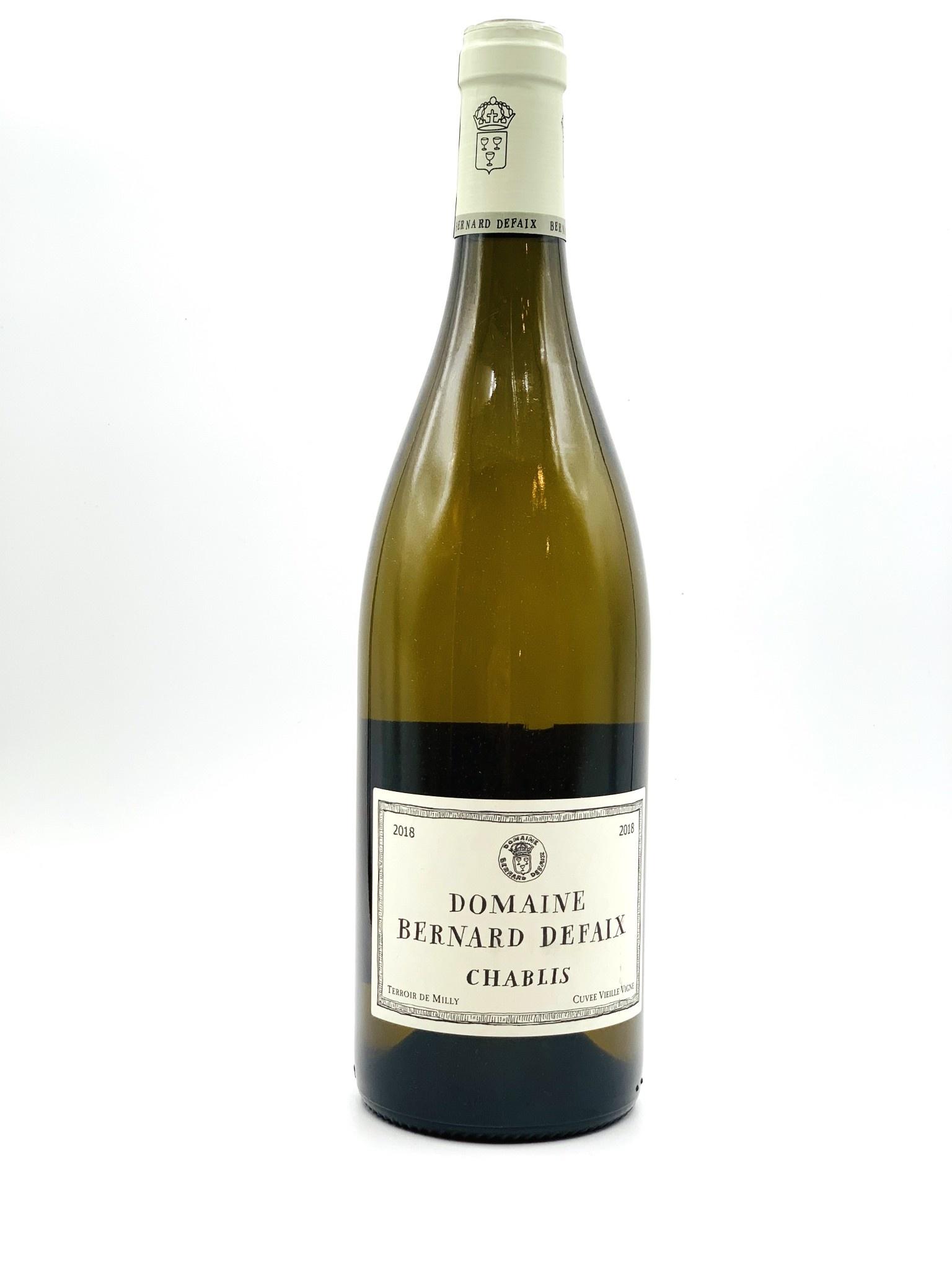 Chablis Vieille Vigne 2018 Domaine Bernard Defaix