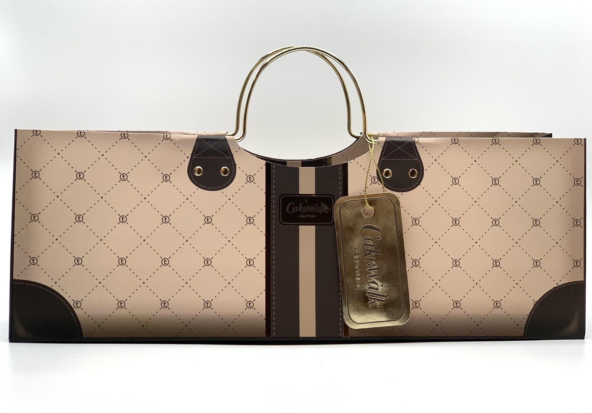Elegant Mocha Polo Purse 1bt Gift Bag