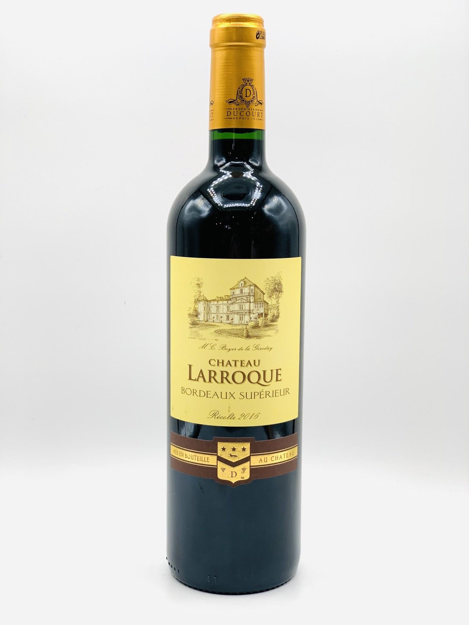 Bordeaux Superieur 2016 Chateau Larroque 750ml