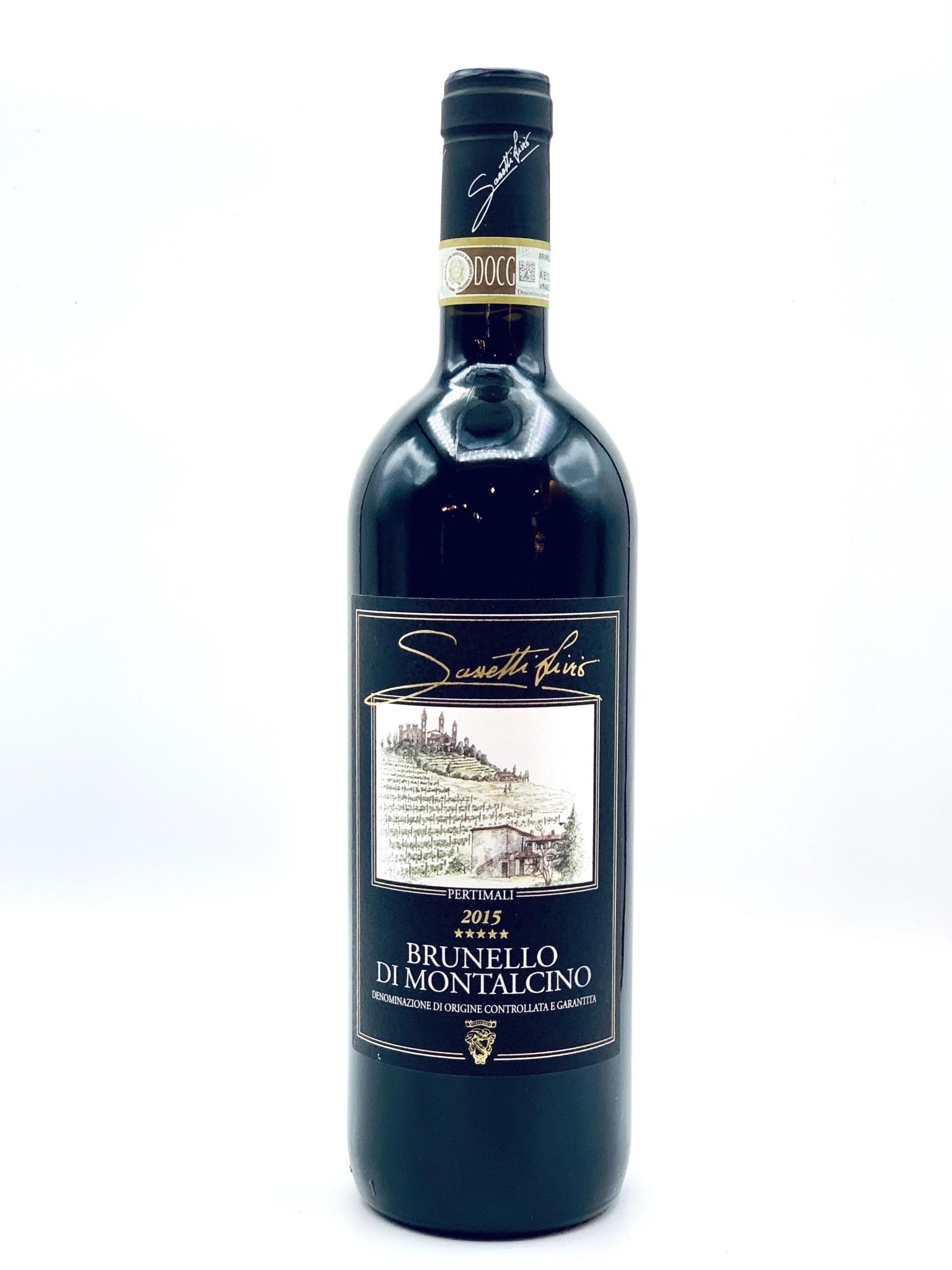 Livio Sassetti 2015 Brunello di Montalcino 'Pertimali Vyd'  750ml