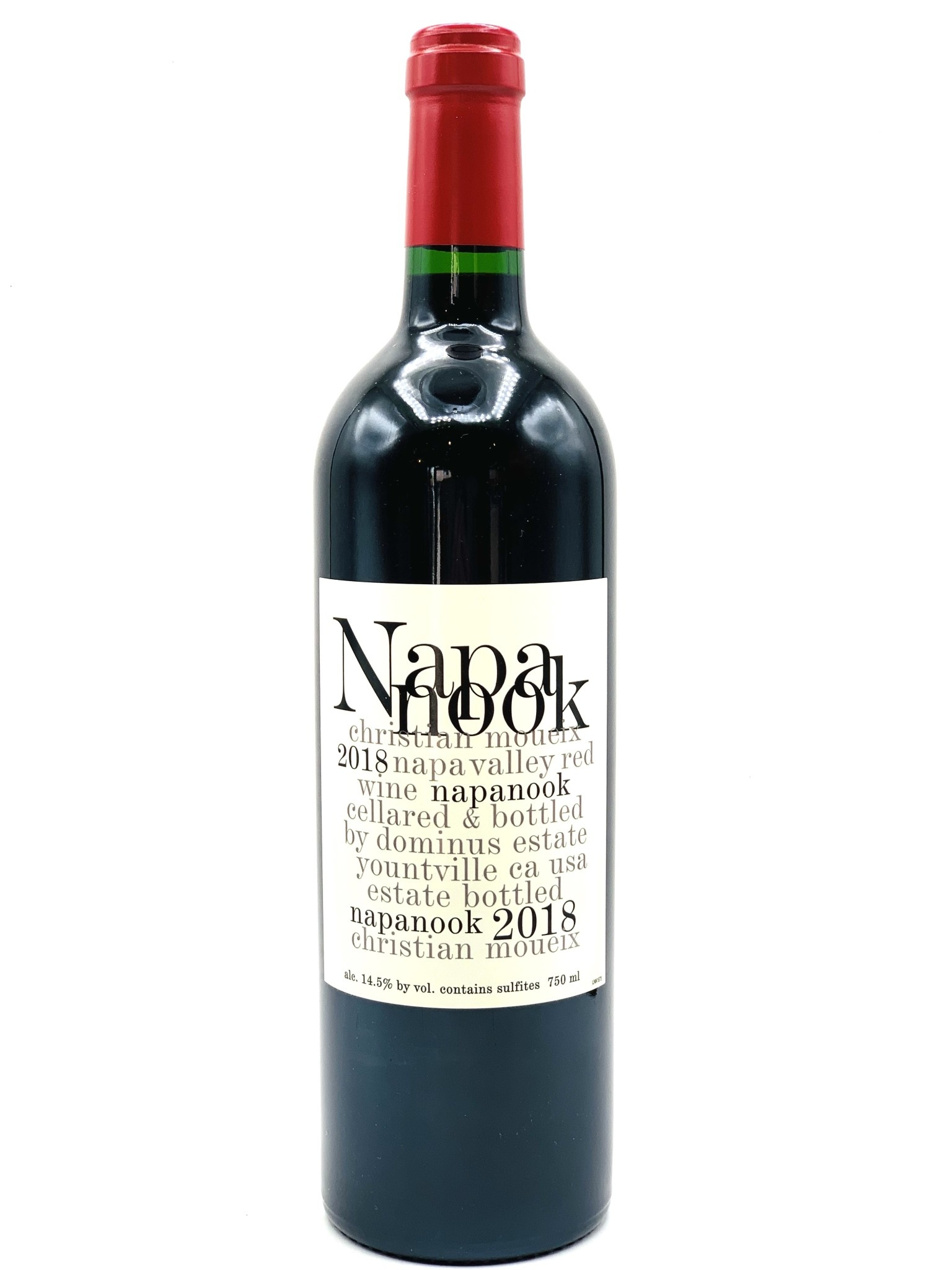 Napa Valley Red 2018 Napanook by Dominus  750ml