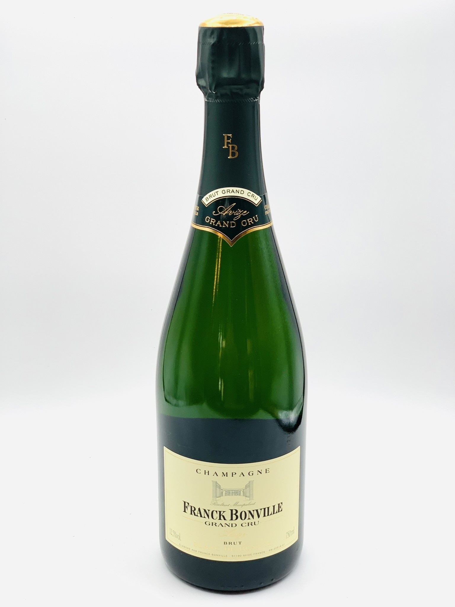 Champagne Grand Cru Blanc de Blanc NV Franck Bonville 750ml