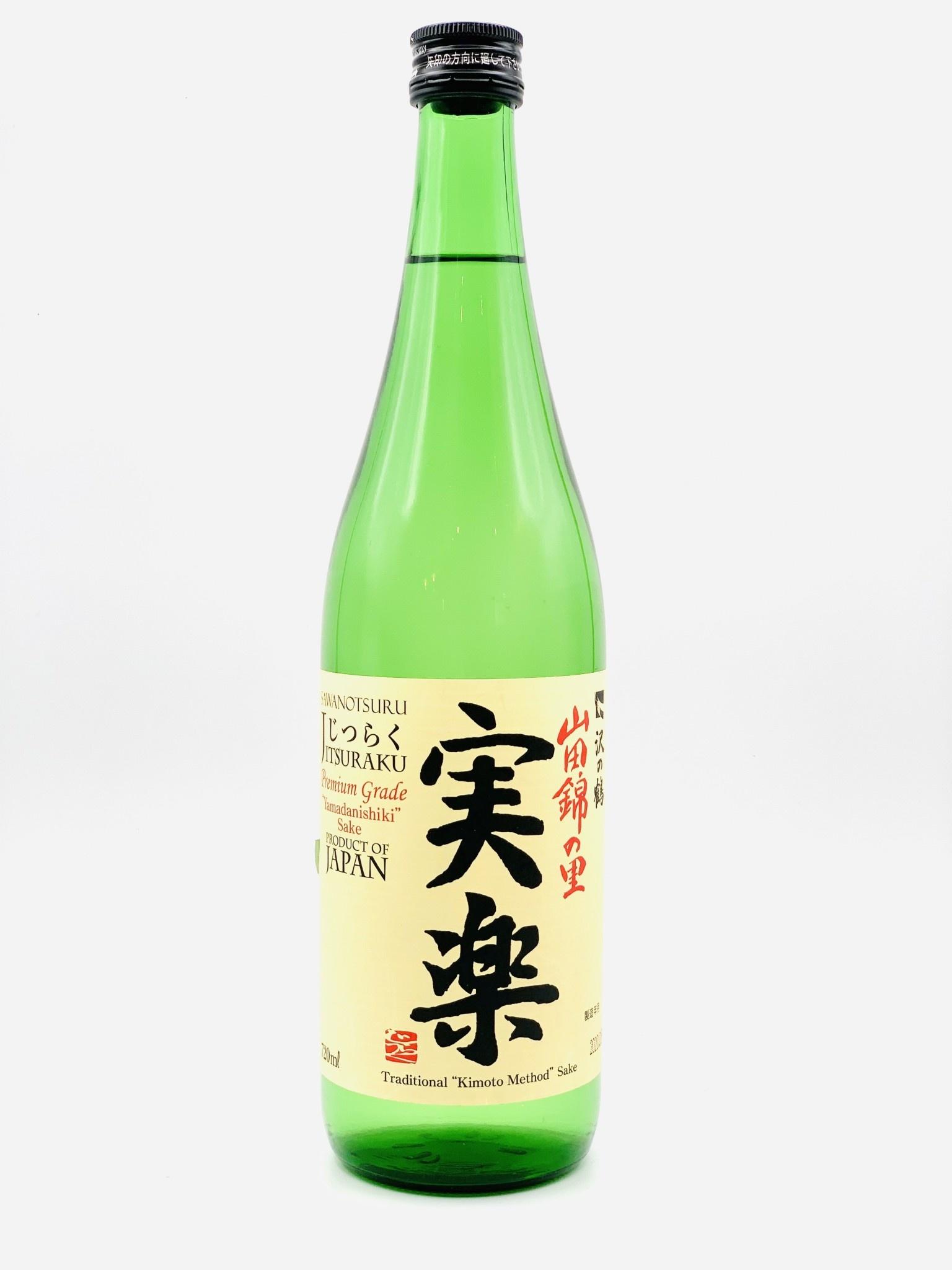 """Sawanotsuru, Tokubetsu Junmai Sake """"Jitsuraku"""" Nada 720ml"""