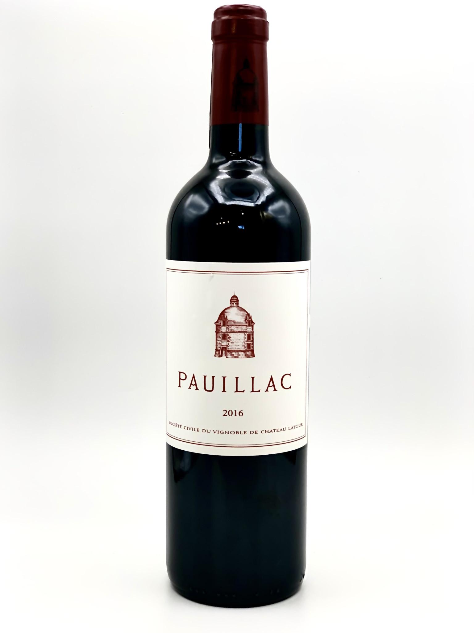 Pauillac 2016 Le Pauillac de Chateau Latour  750ml