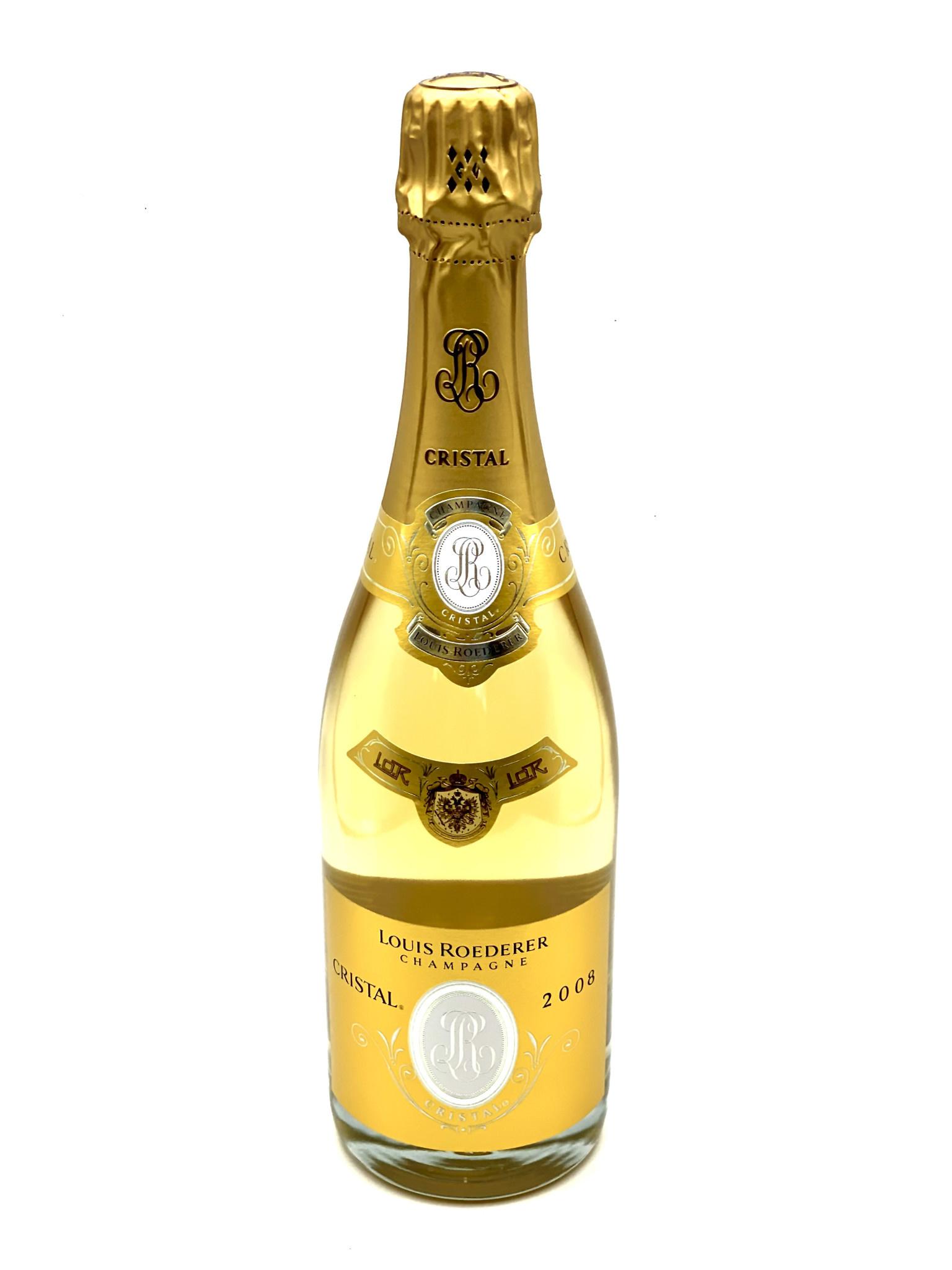 """Champagne Brut Cristal 2008 Louis Roederer  """"Grand Cru"""" 750ml"""