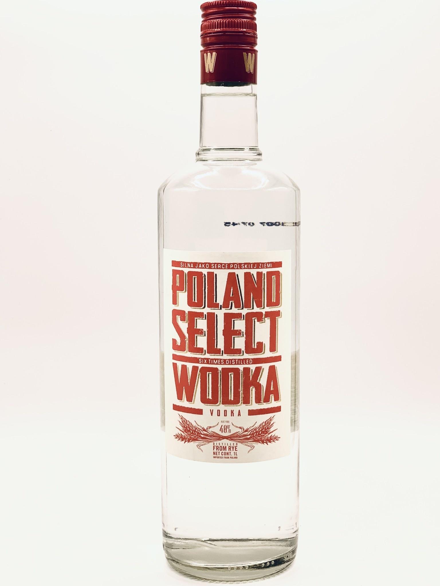 Poland Select Vodka (80 proof) 750ml