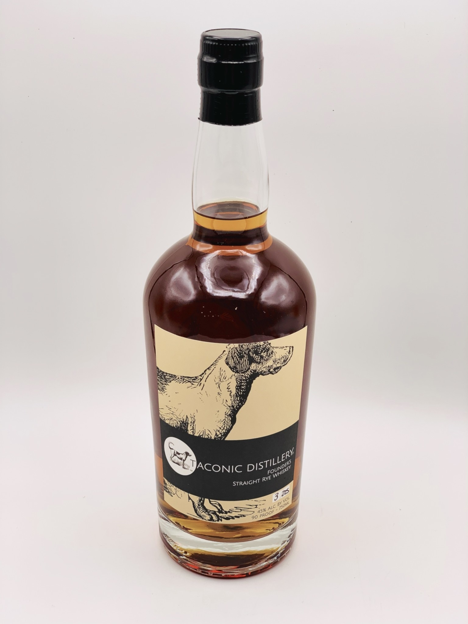Taconic Distillery Straight Rye Whiskey  (90 proof) 750ml