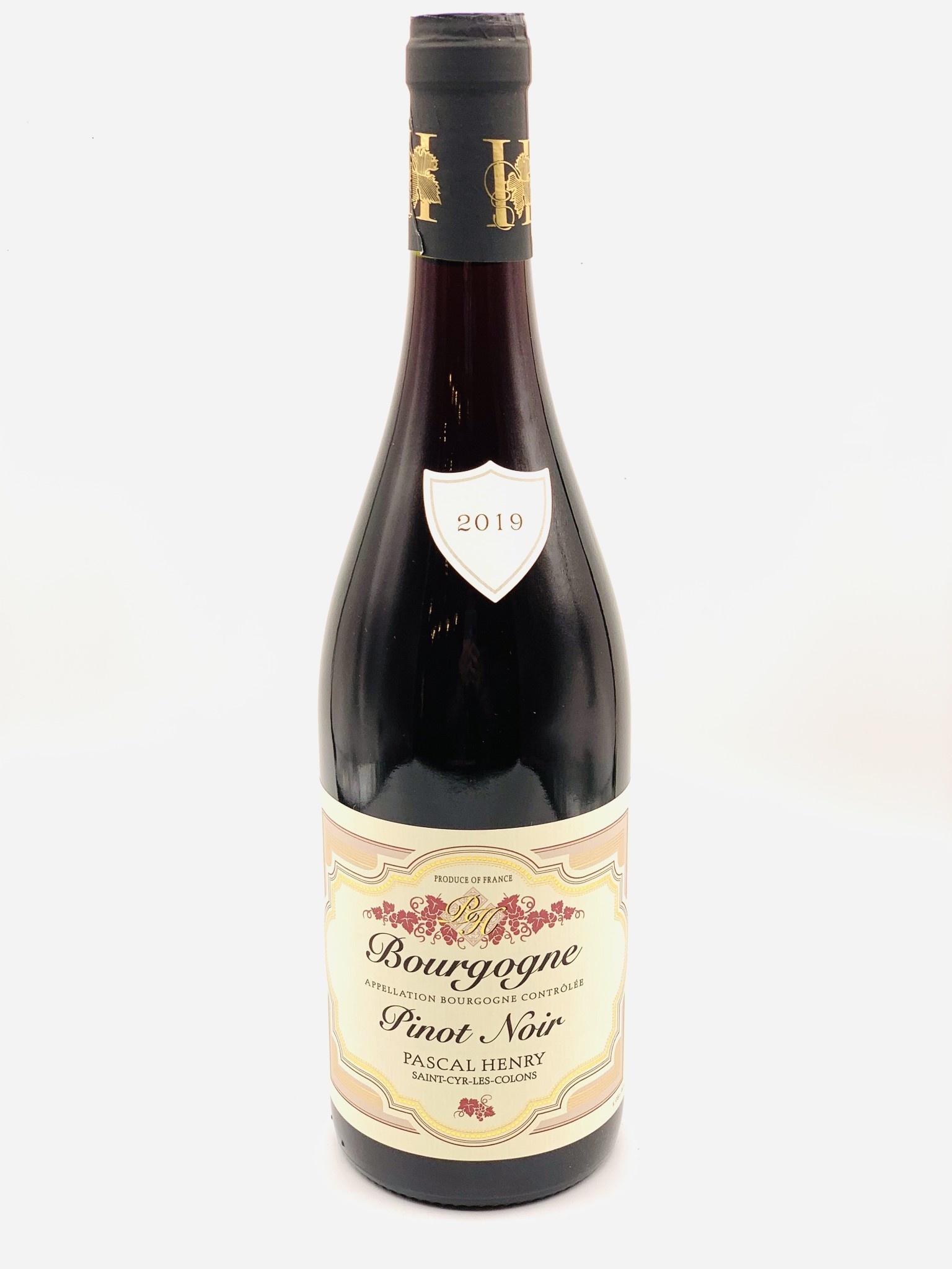 Bourgogne Rouge 2019 Domaine Pascal Henry  750ml