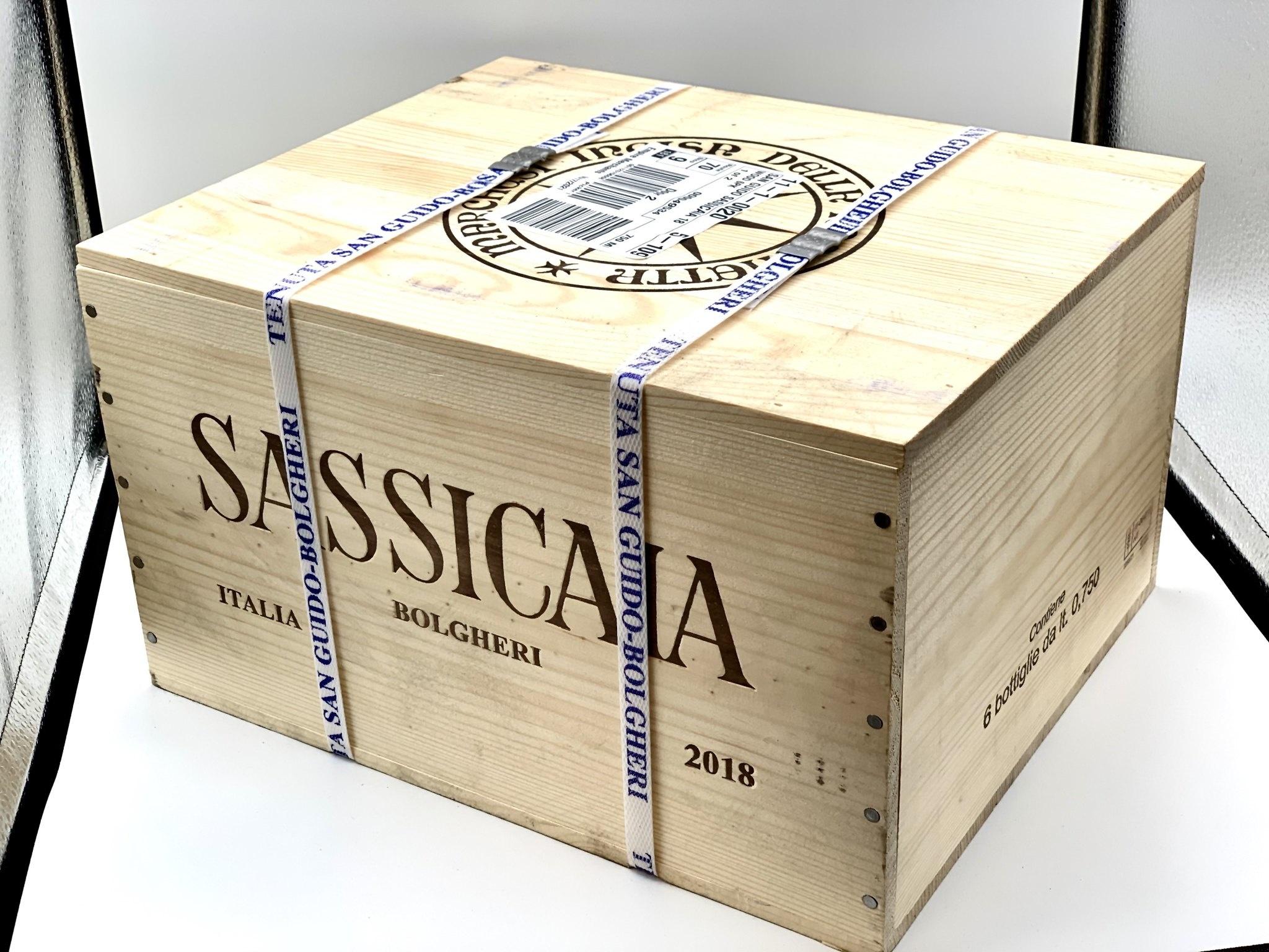 Bolgheri Sassicaia 2018 Tenuta San Guido  750ml