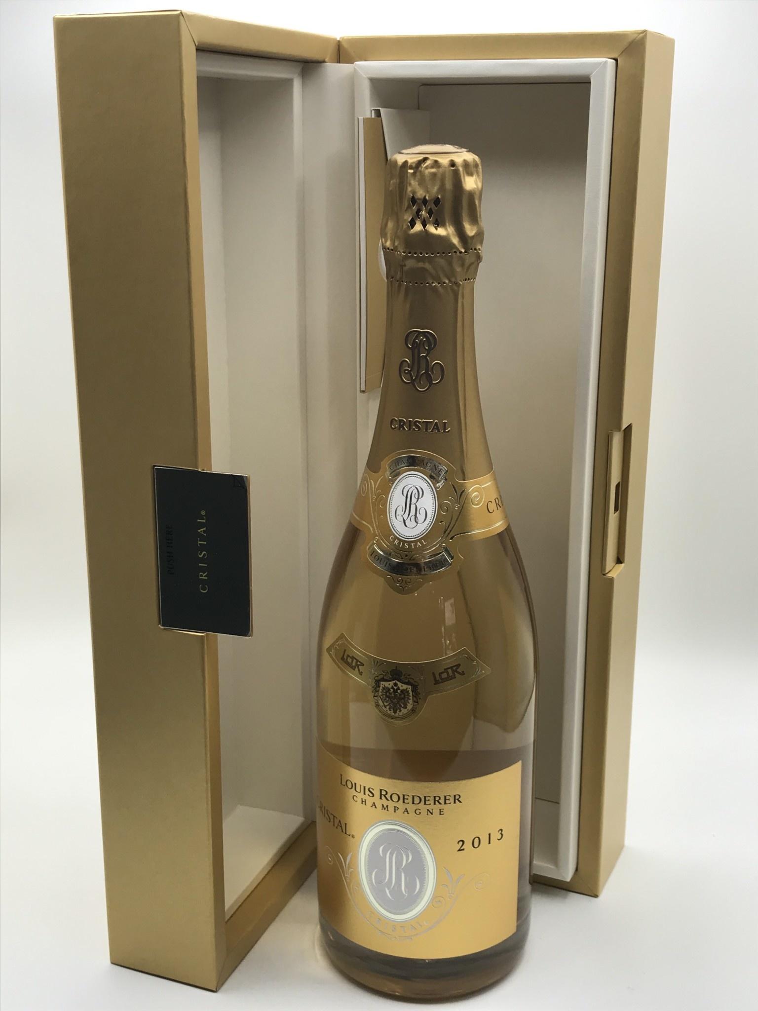 """Champagne Brut Cristal 2013 Louis Roederer """"Grand Cru""""  750ml"""