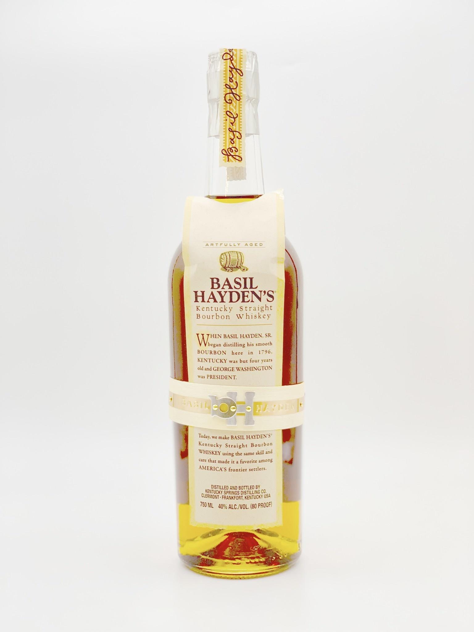 Basil Hayden Kentucky Straight Bourbon Whiskey  750ml (80 proof)