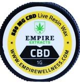 Empire Wellness CBD Live Resin 1 Gram