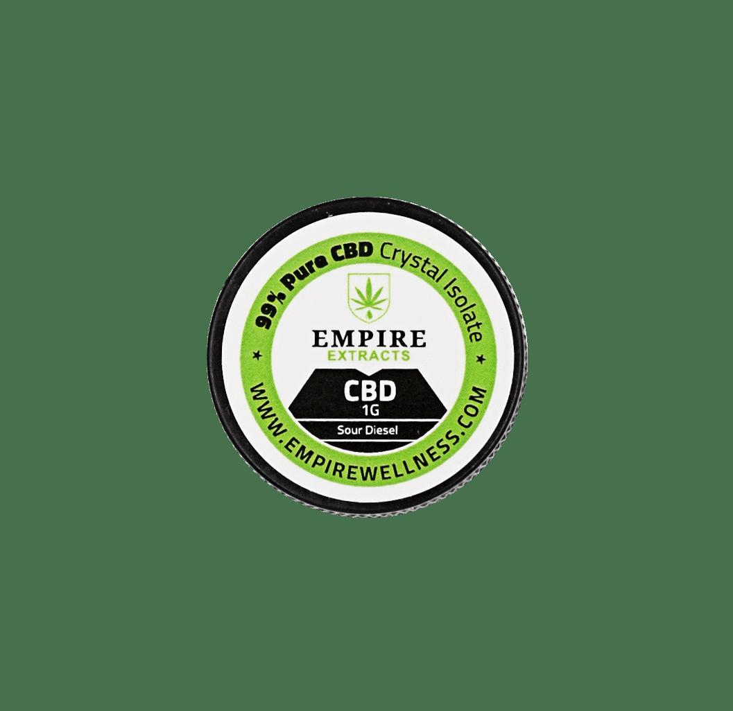Empire Wellness CBD Isolate 1 Gram