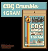 Cypress Hemp Cypress Hemp Full Spectrum CBG Crumble - 1g