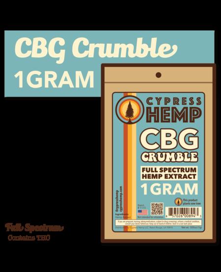 Cypress Hemp CBG Crumble - 1g