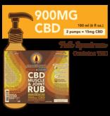 Cypress Hemp Cypress Hemp Full Spectrum CBD Warming & Cooling Muscle and Joint Rub - 900mg