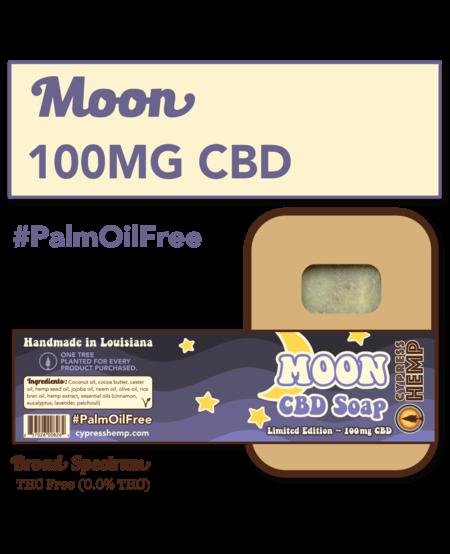 Cypress Hemp CBD Soap - Moon
