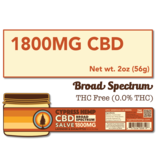 Cypress Hemp Cypress Hemp Broad Spectrum CBD Salve Lavender & Eucalyptus - 1800mg