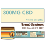 Cypress Hemp Cypress Hemp Broad Spectrum CBD Salve Lavender & Eucalyptus - 300mg