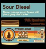Cypress Hemp Cypress Hemp CBD Hemp Flower Sour Diesel 3.5g