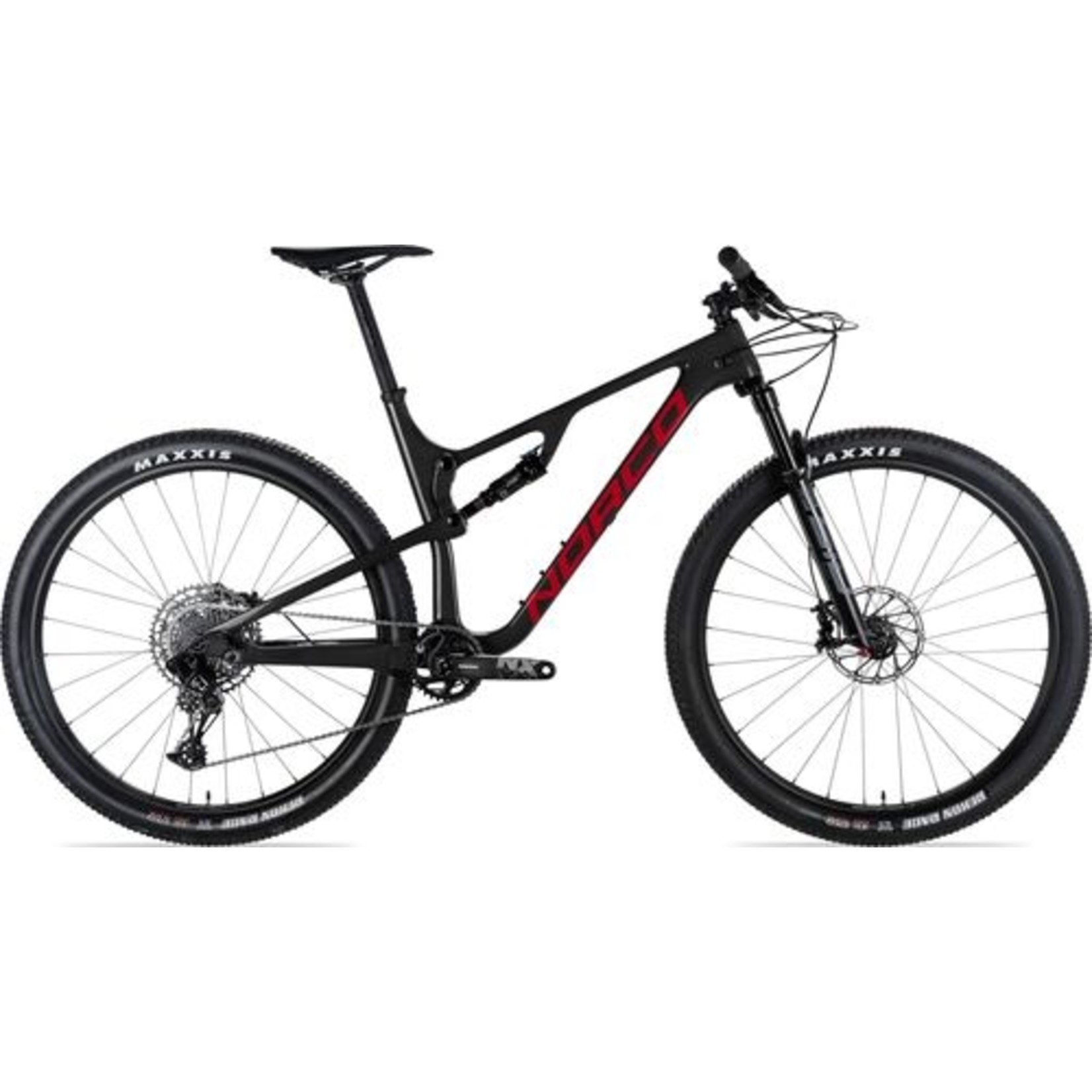 Norco REVOLVER FS 2 L29 BLACK RED