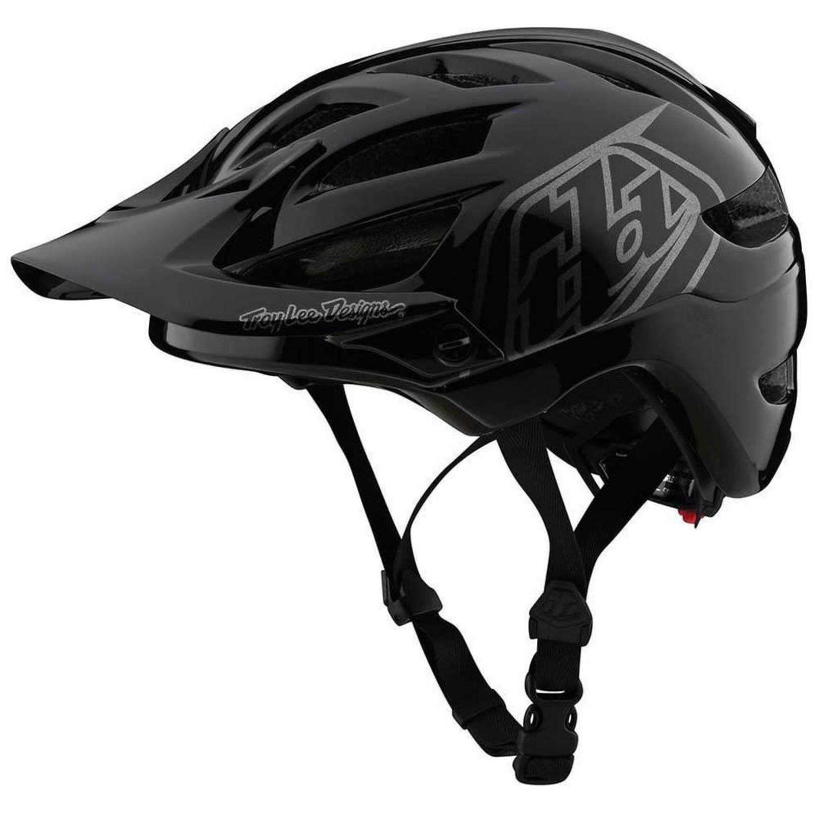 Troy Lee Designs A1 Youth; Drone Black/Silver